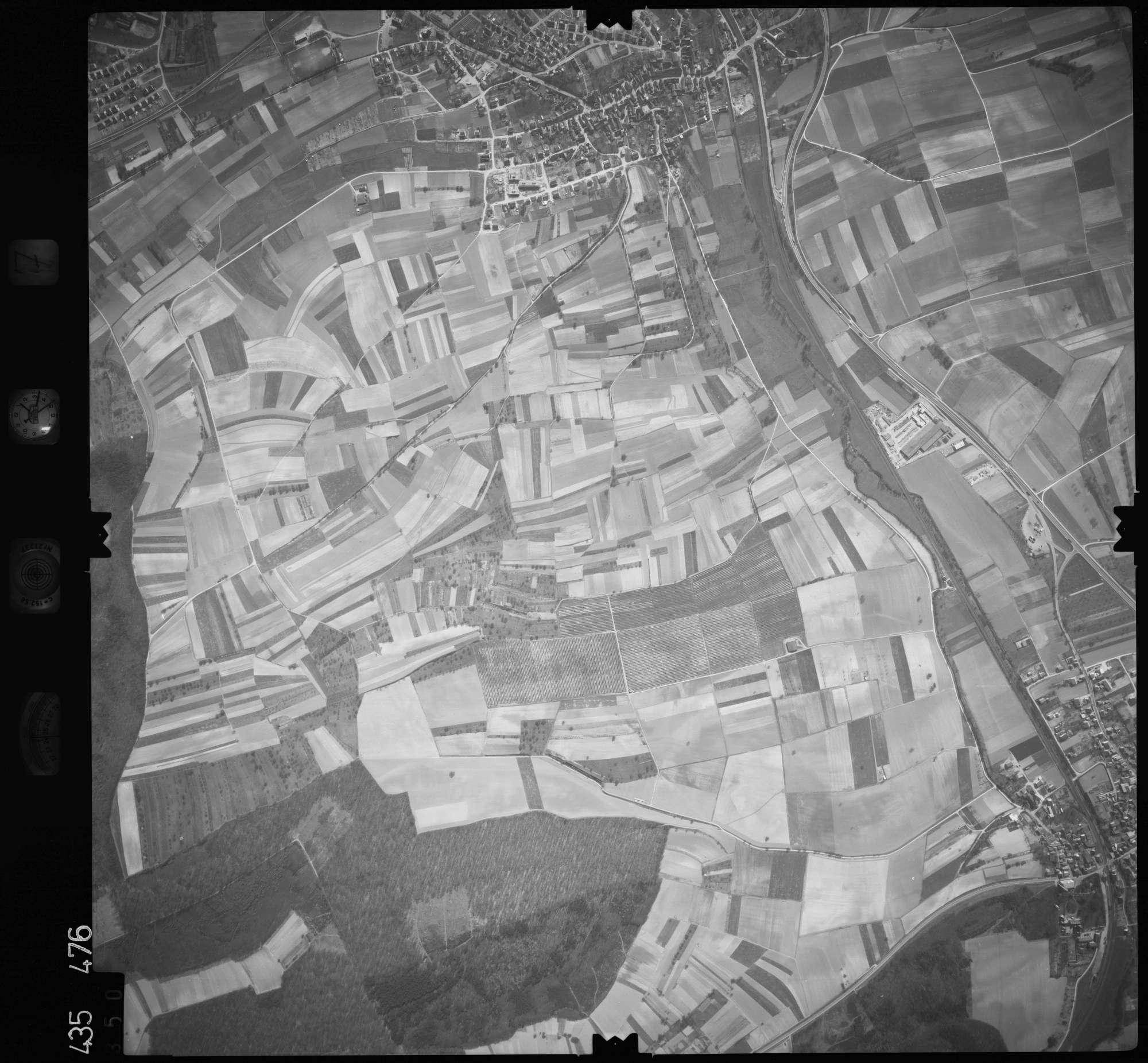 Luftbild: Film 7 Bildnr. 350, Bild 1