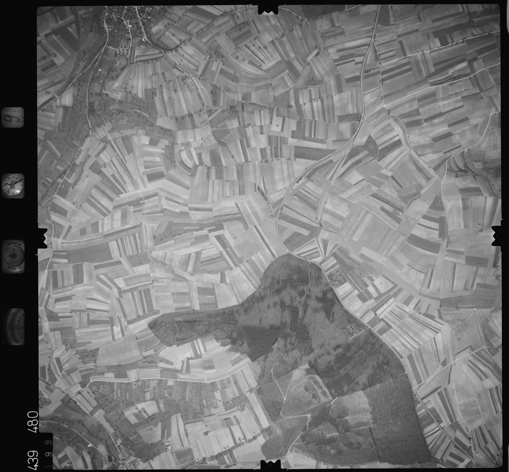 Luftbild: Film 9 Bildnr. 199, Bild 1