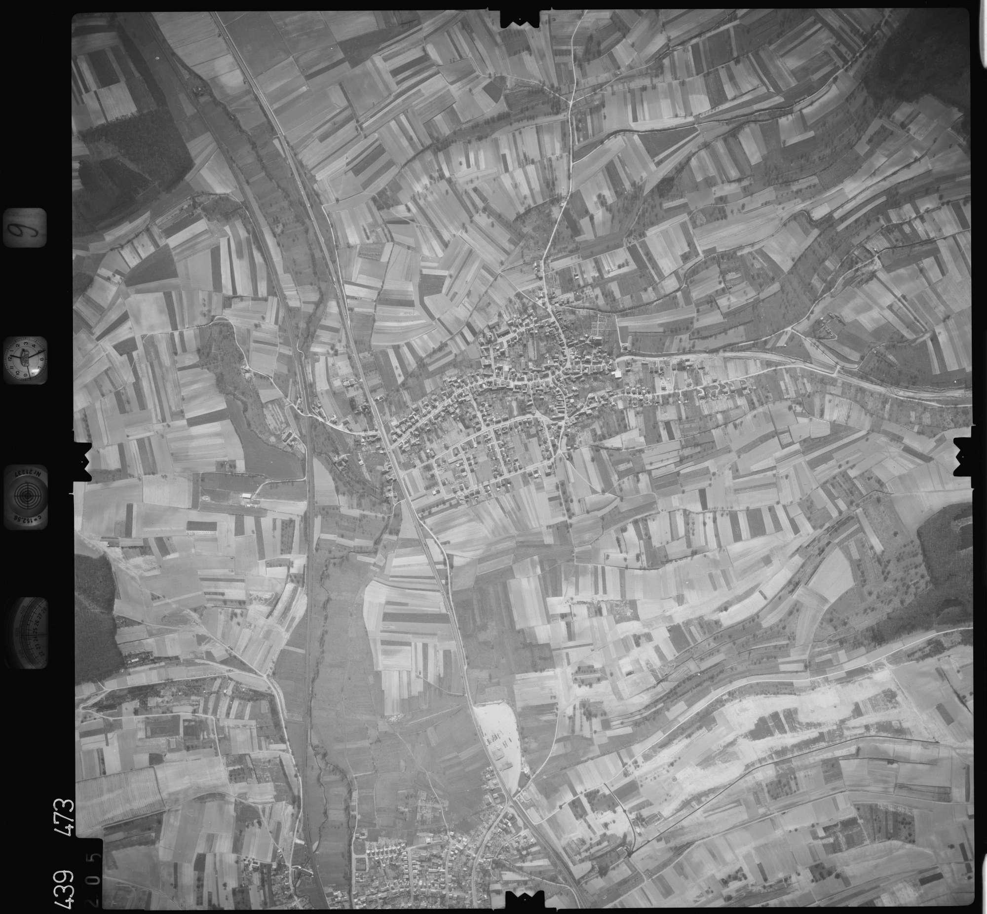 Luftbild: Film 9 Bildnr. 205, Bild 1