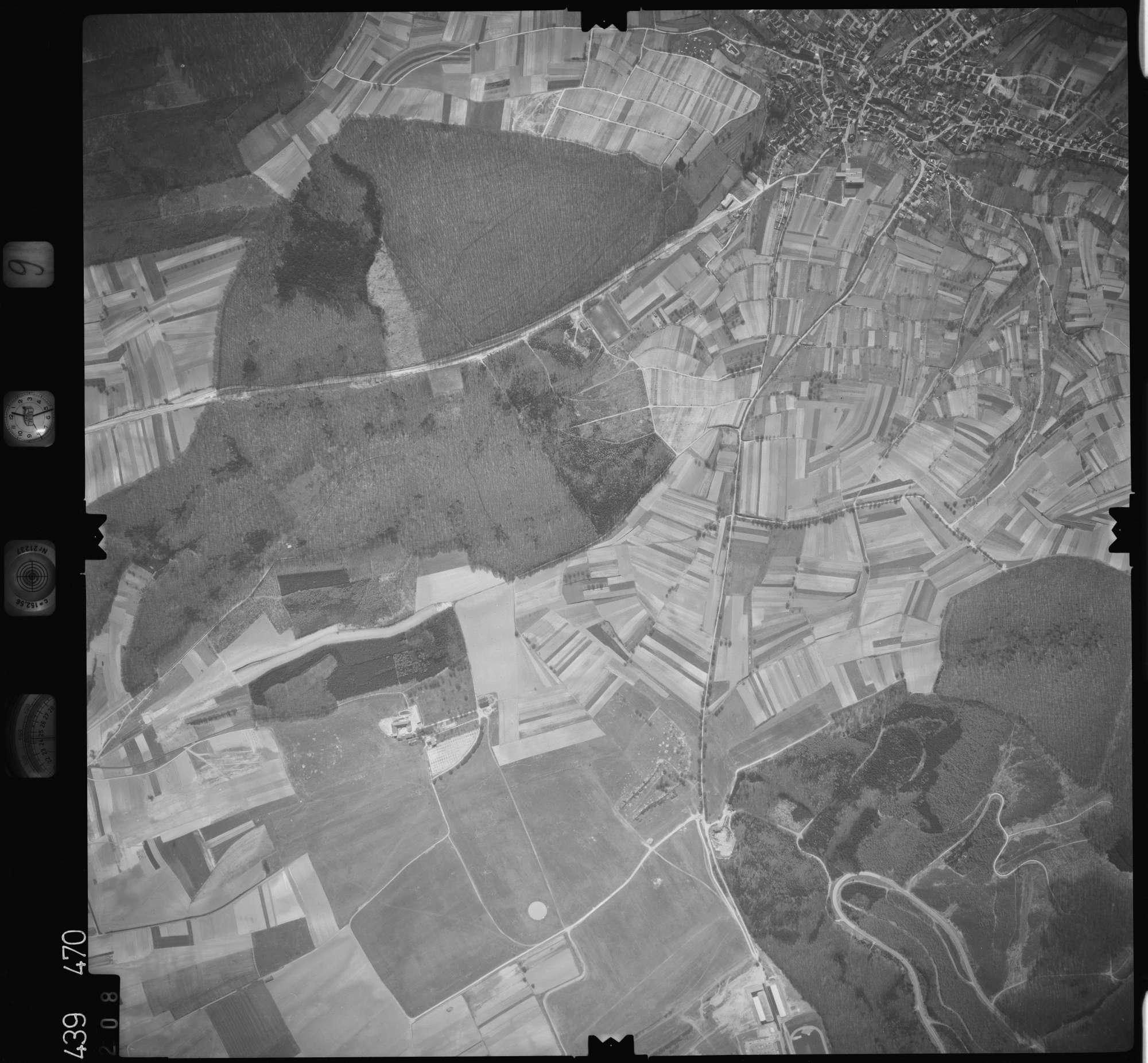 Luftbild: Film 9 Bildnr. 208, Bild 1