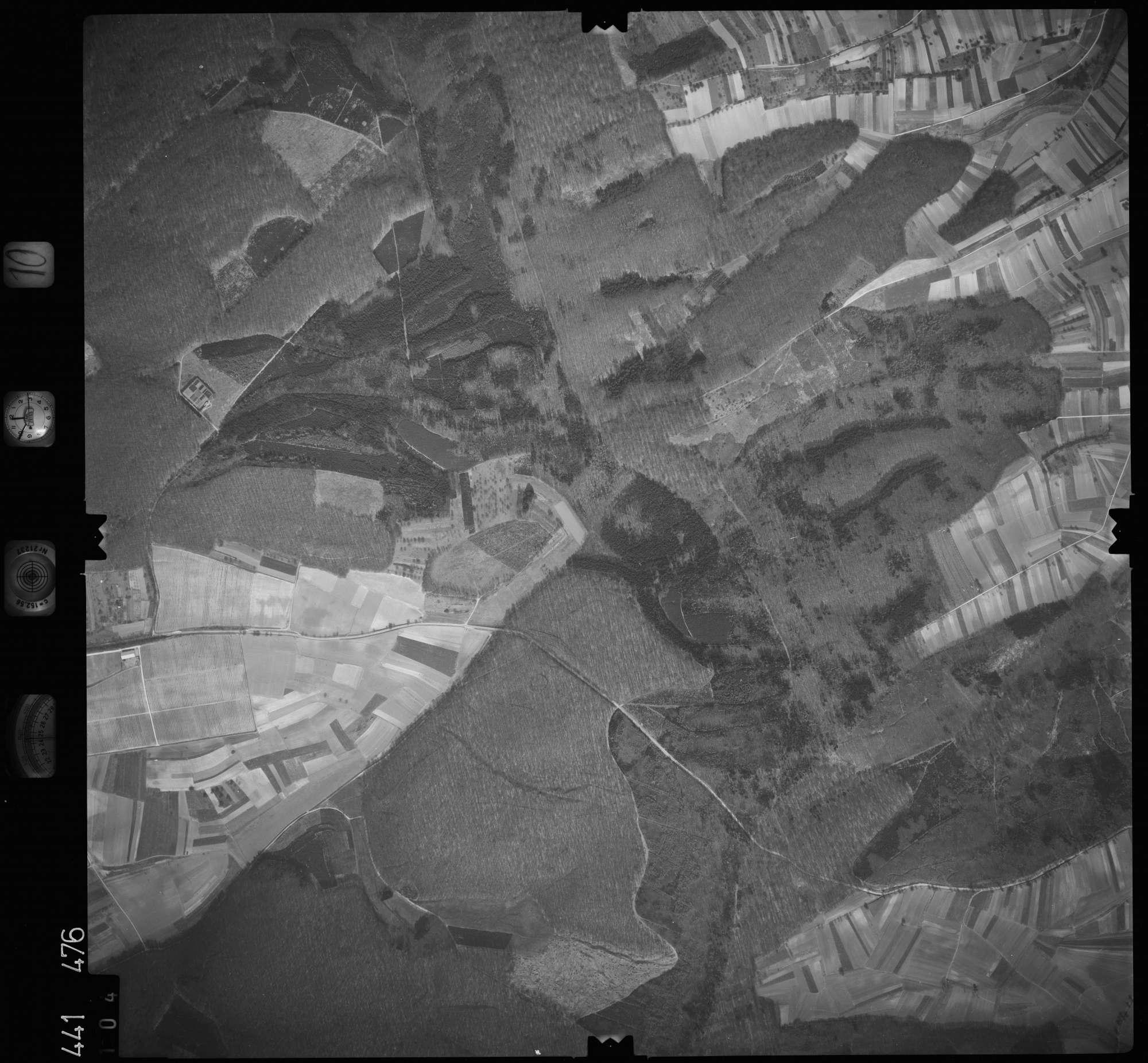 Luftbild: Film 10 Bildnr. 104, Bild 1