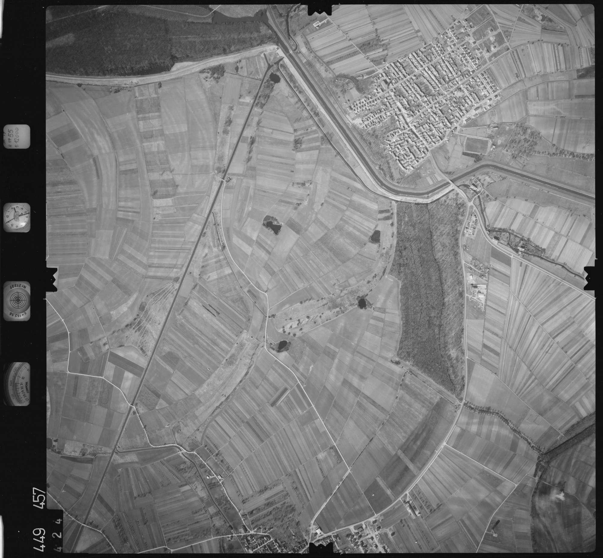 Luftbild: Film 14 Bildnr. 424, Bild 1