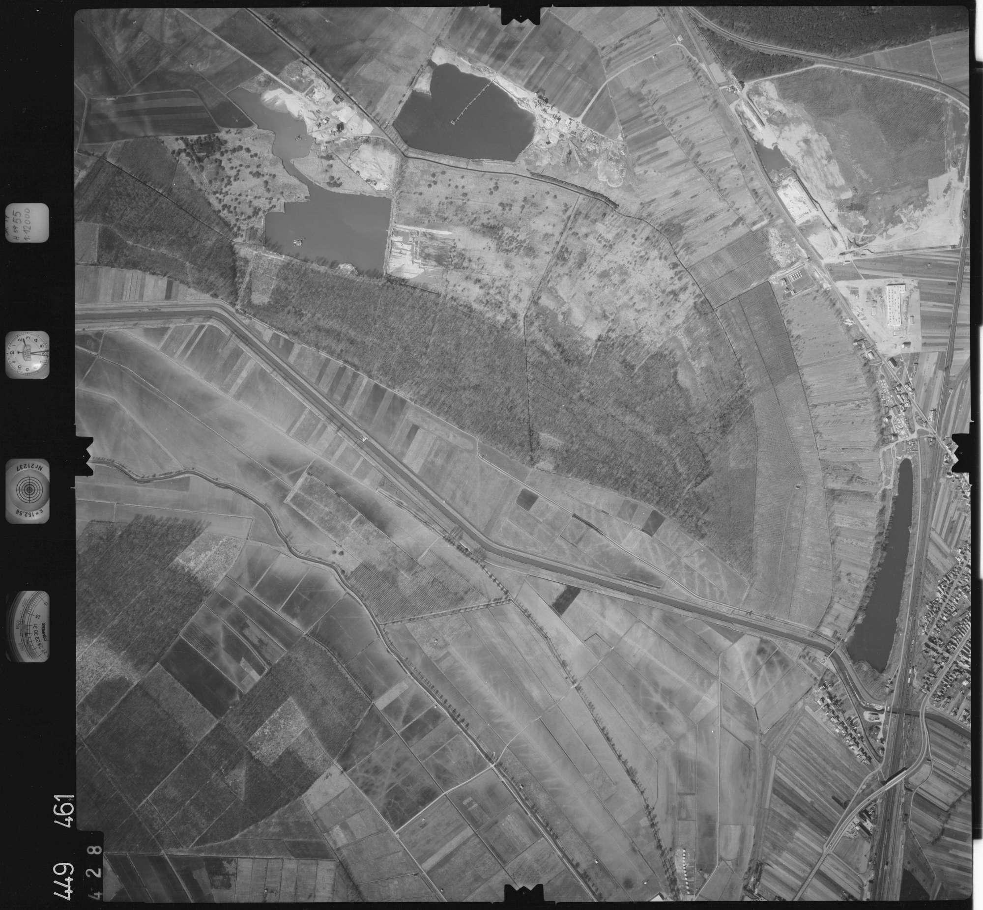 Luftbild: Film 14 Bildnr. 428, Bild 1
