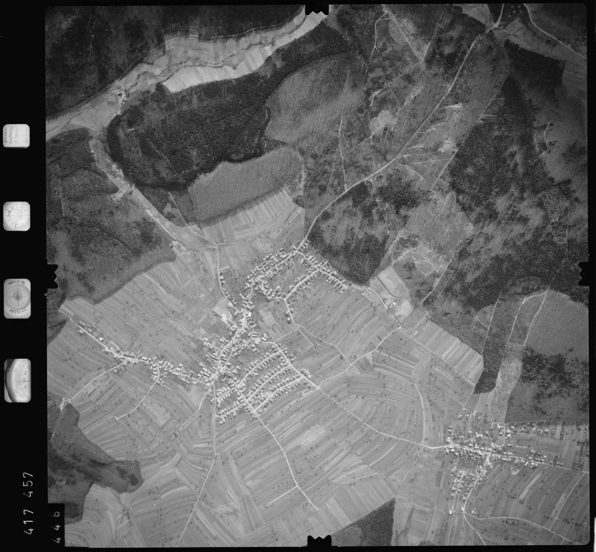 Luftbild: Film 2 Bildnr. 446, Bild 1