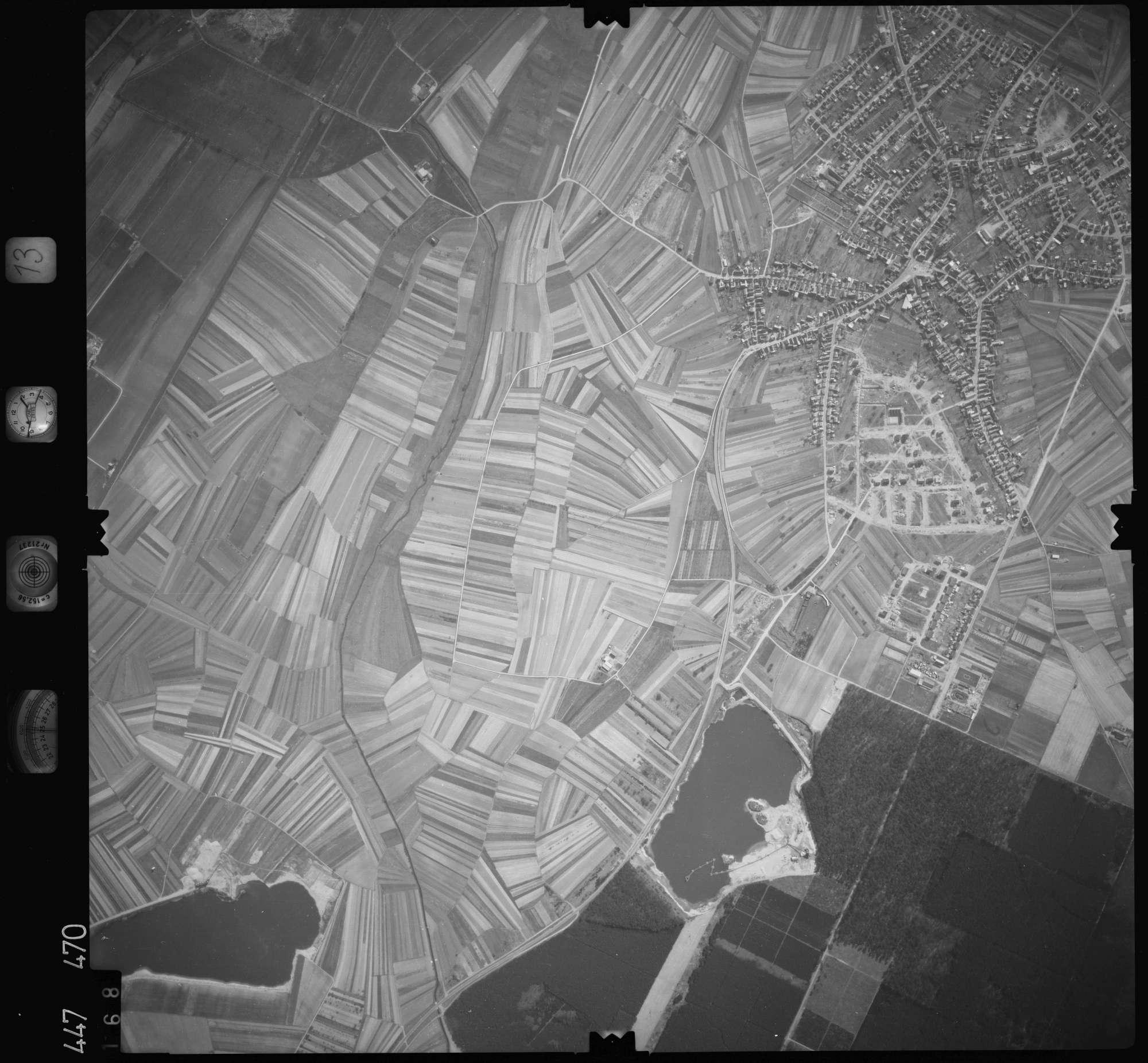 Luftbild: Film 13 Bildnr. 168, Bild 1