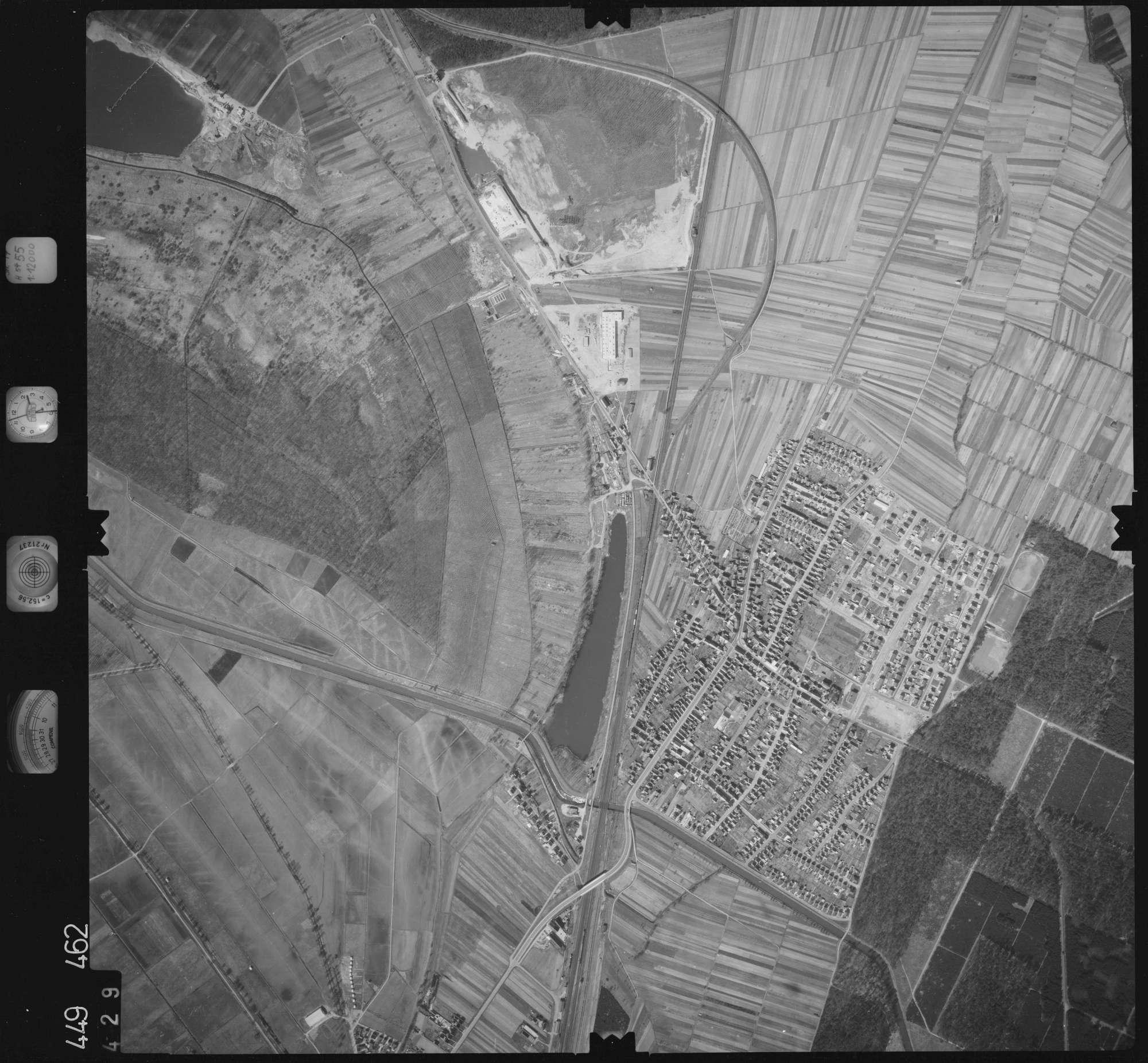 Luftbild: Film 14 Bildnr. 429, Bild 1