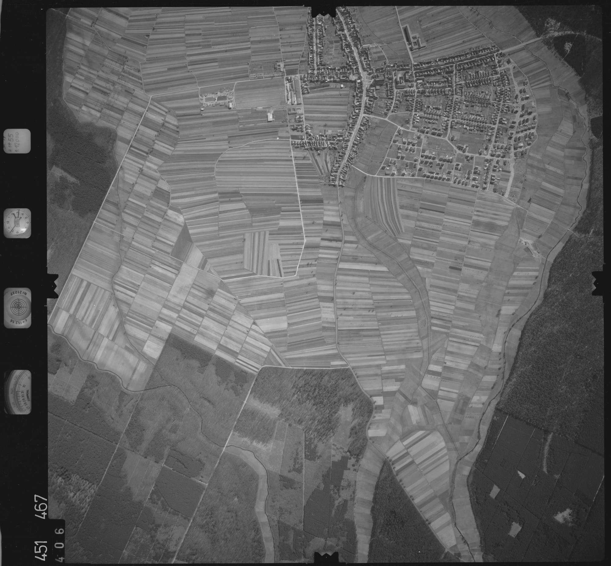 Luftbild: Film 15 Bildnr. 406, Bild 1