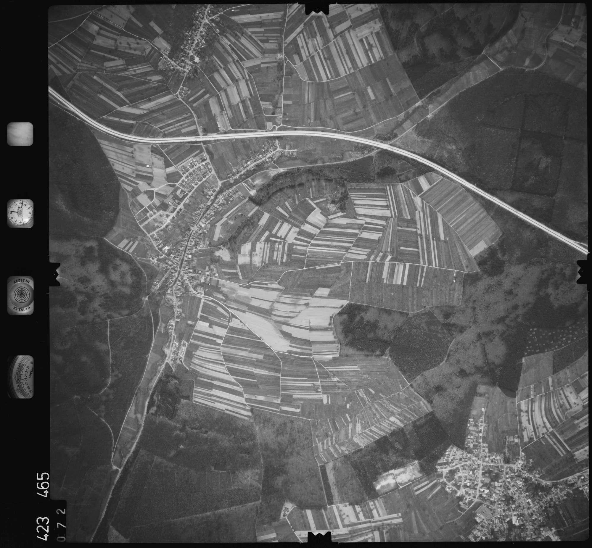 Luftbild: Film 1 Bildnr. 72, Bild 1