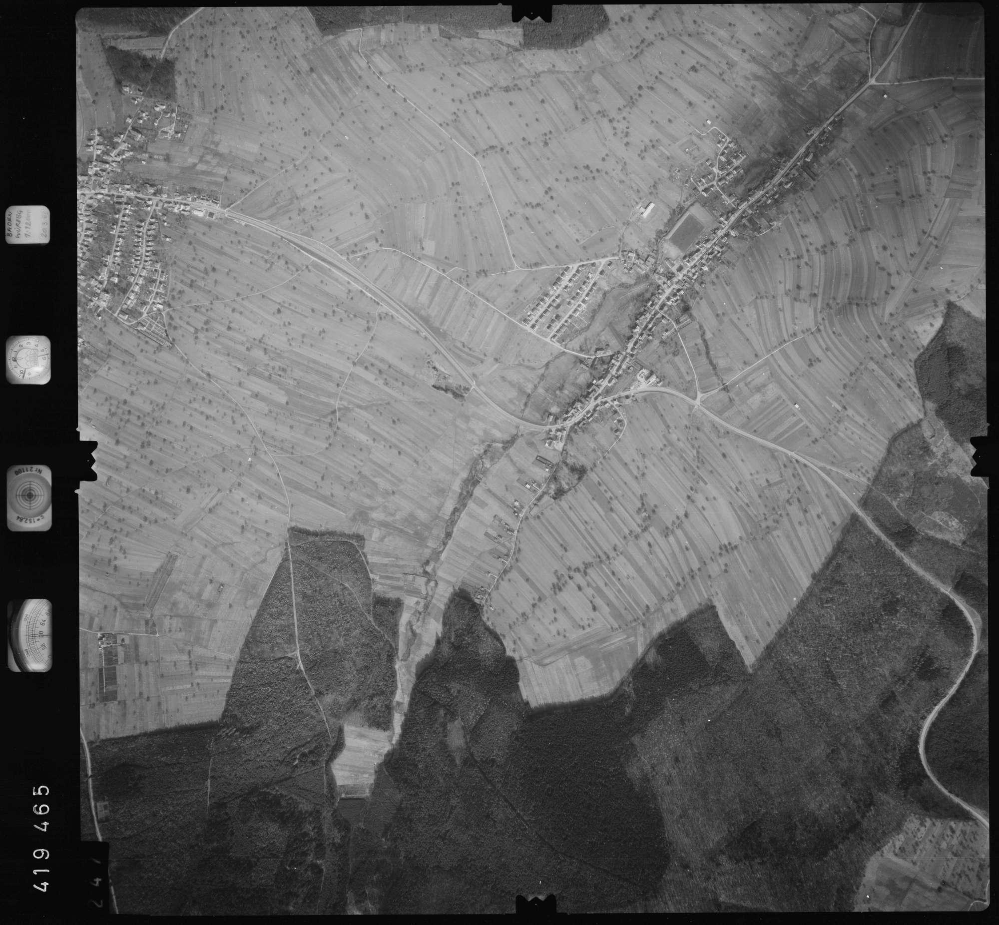 Luftbild: Film 1 Bildnr. 247, Bild 1