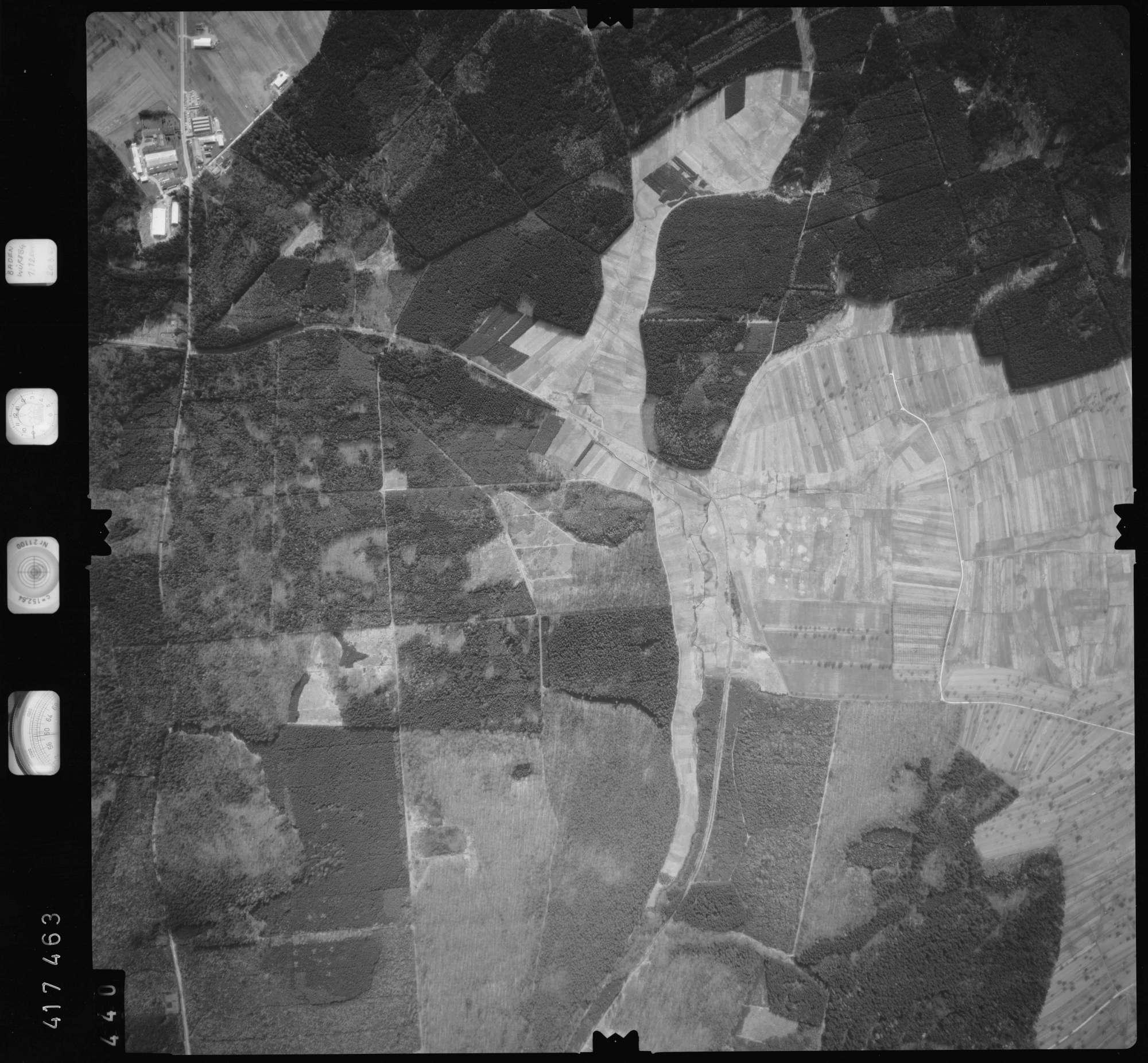 Luftbild: Film 2 Bildnr. 440, Bild 1