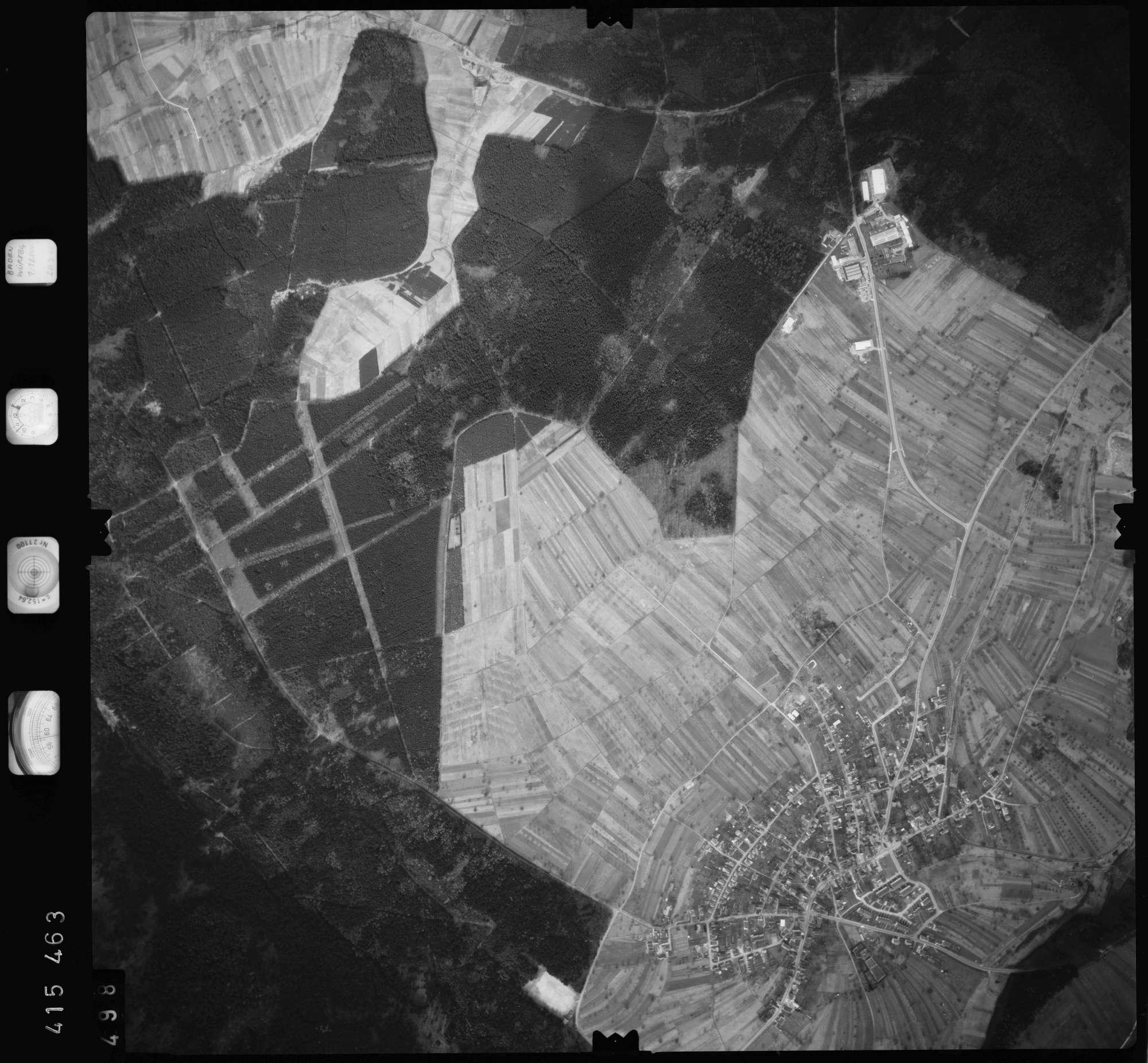 Luftbild: Film 2 Bildnr. 498, Bild 1
