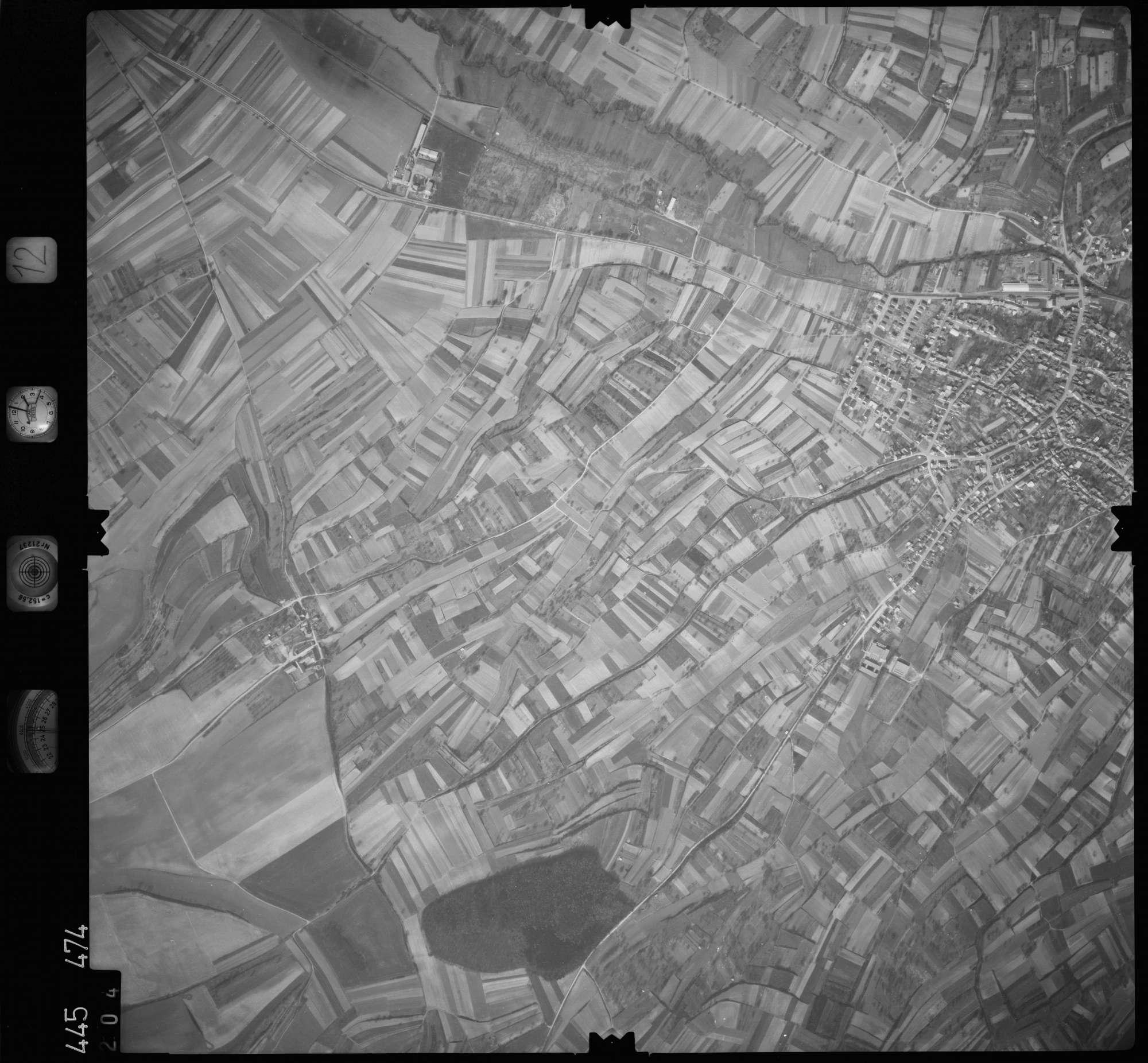 Luftbild: Film 12 Bildnr. 204, Bild 1