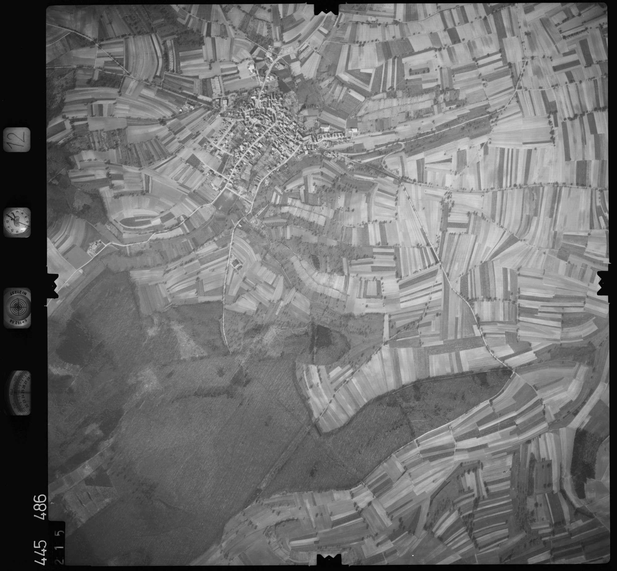 Luftbild: Film 12 Bildnr. 215, Bild 1