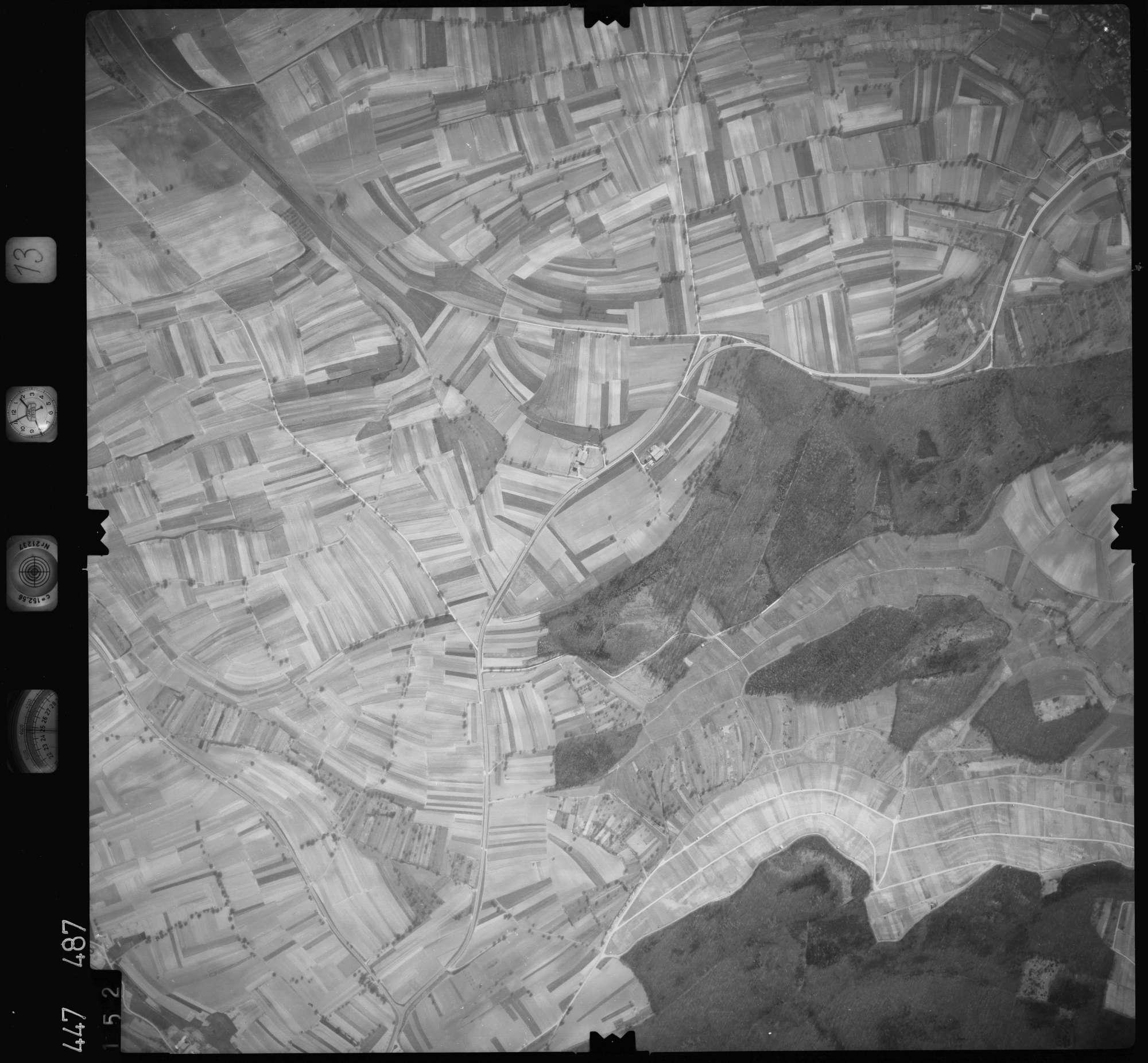 Luftbild: Film 13 Bildnr. 152, Bild 1