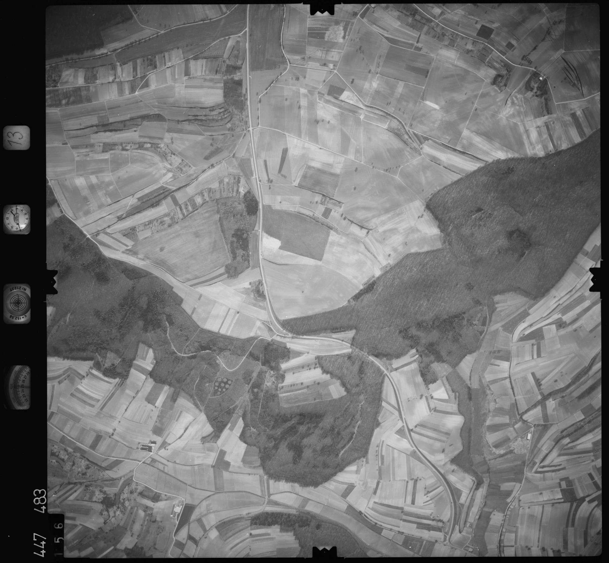 Luftbild: Film 13 Bildnr. 156, Bild 1