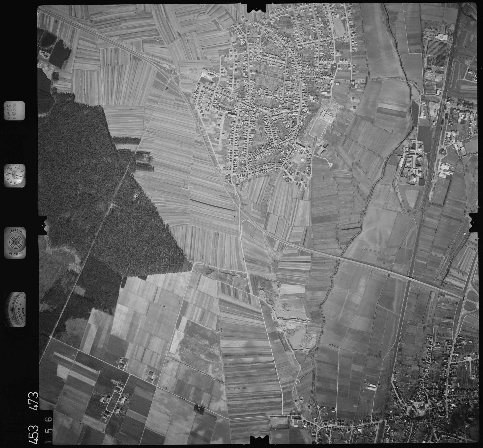 Luftbild: Film 16 Bildnr. 156, Bild 1