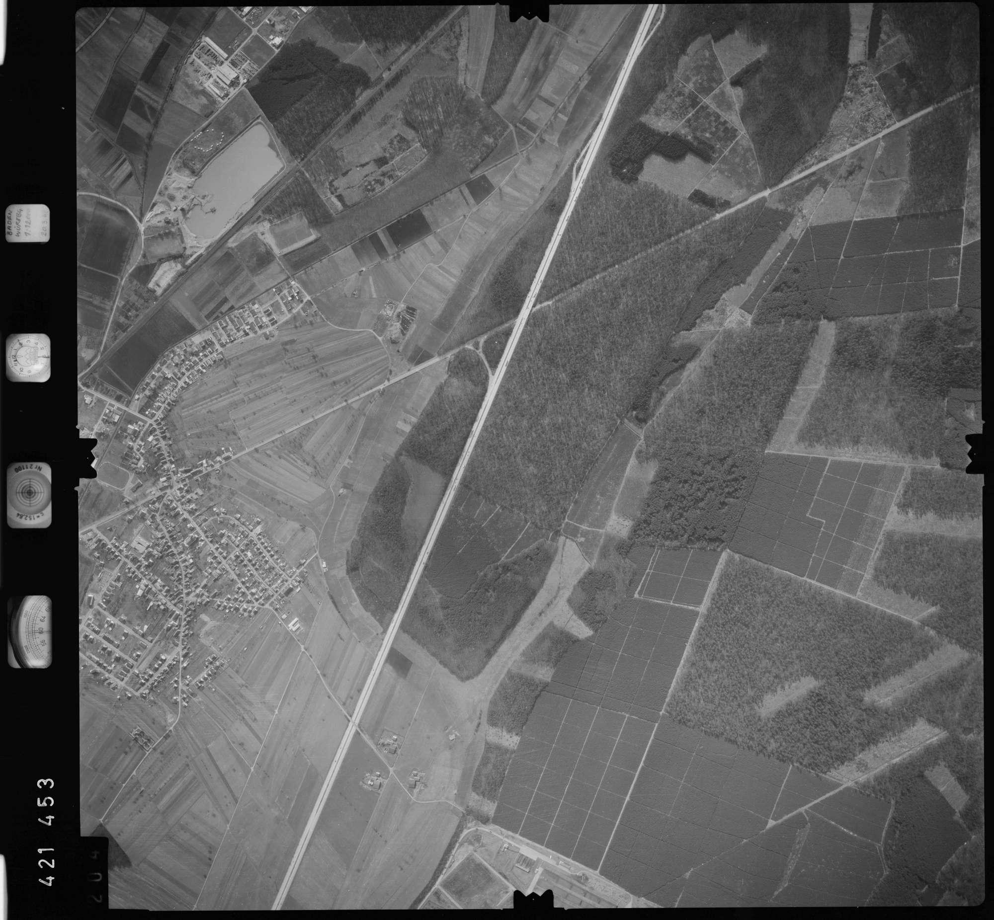 Luftbild: Film 1 Bildnr. 204, Bild 1