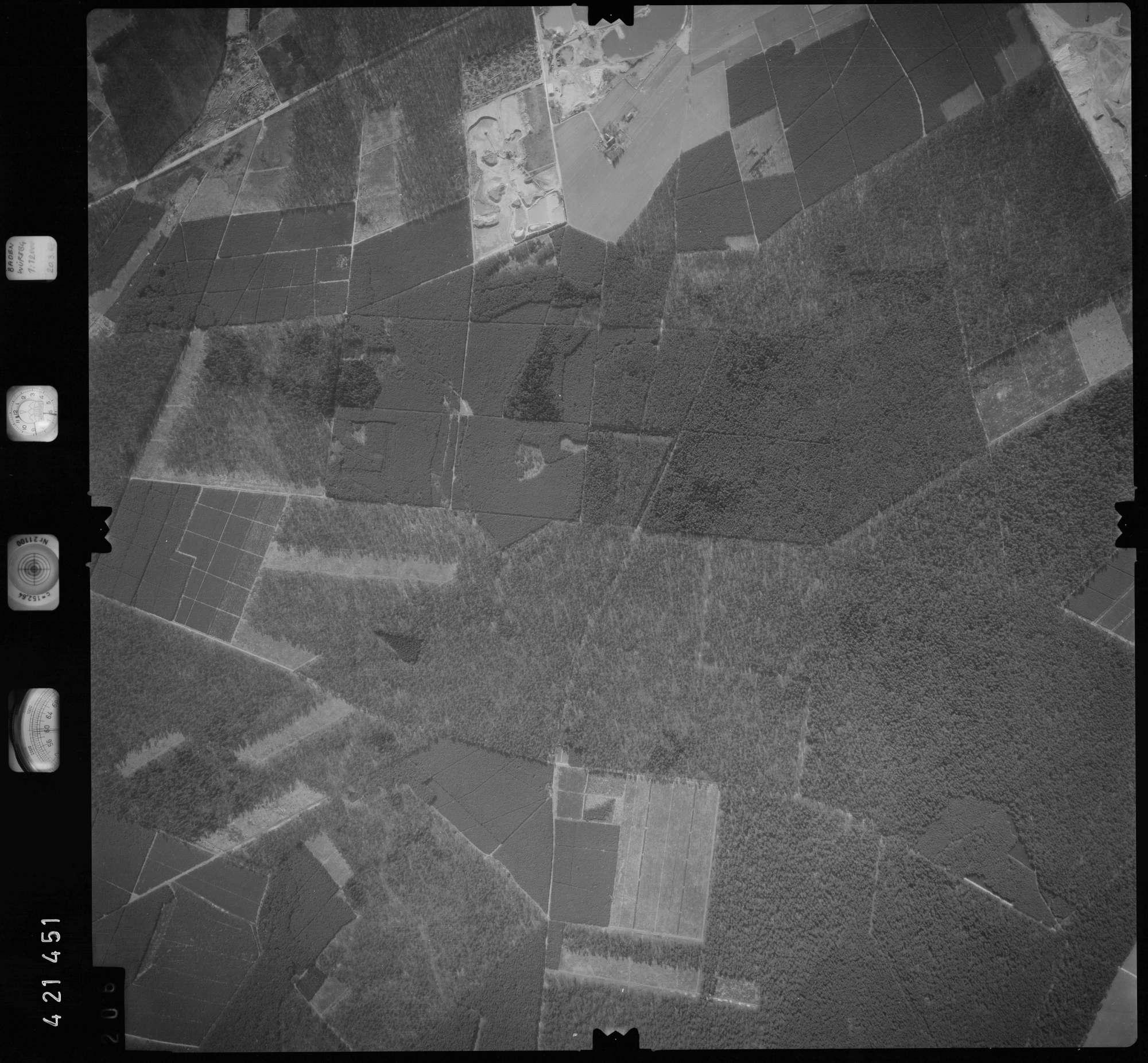 Luftbild: Film 1 Bildnr. 206, Bild 1