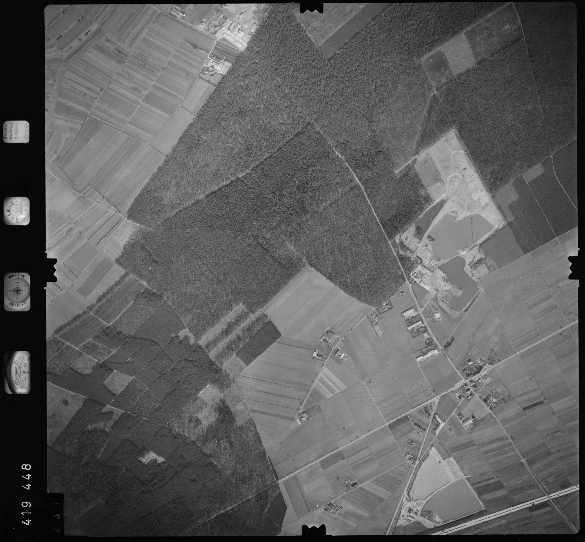 Luftbild: Film 1 Bildnr. 231, Bild 1
