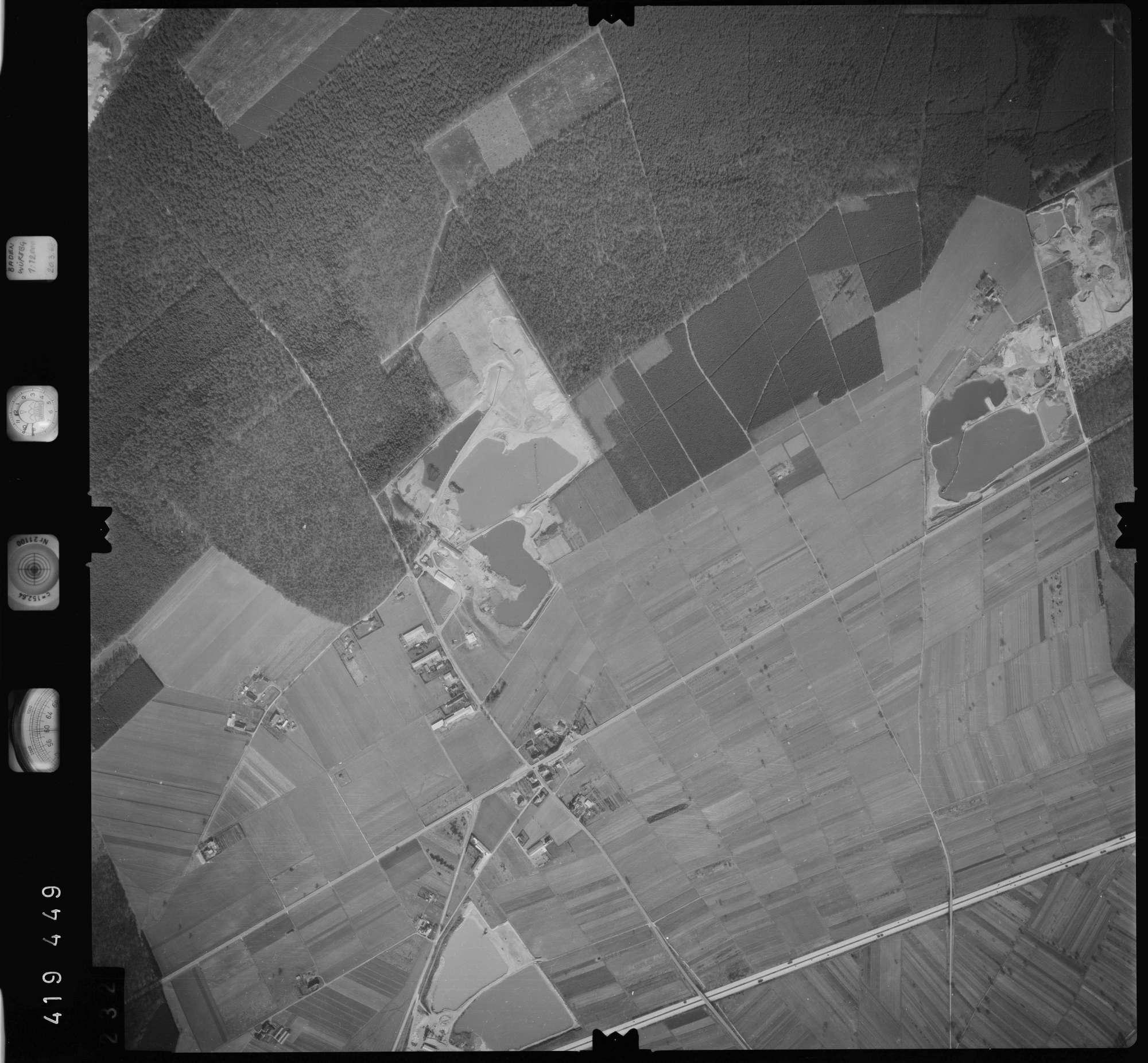 Luftbild: Film 1 Bildnr. 232, Bild 1