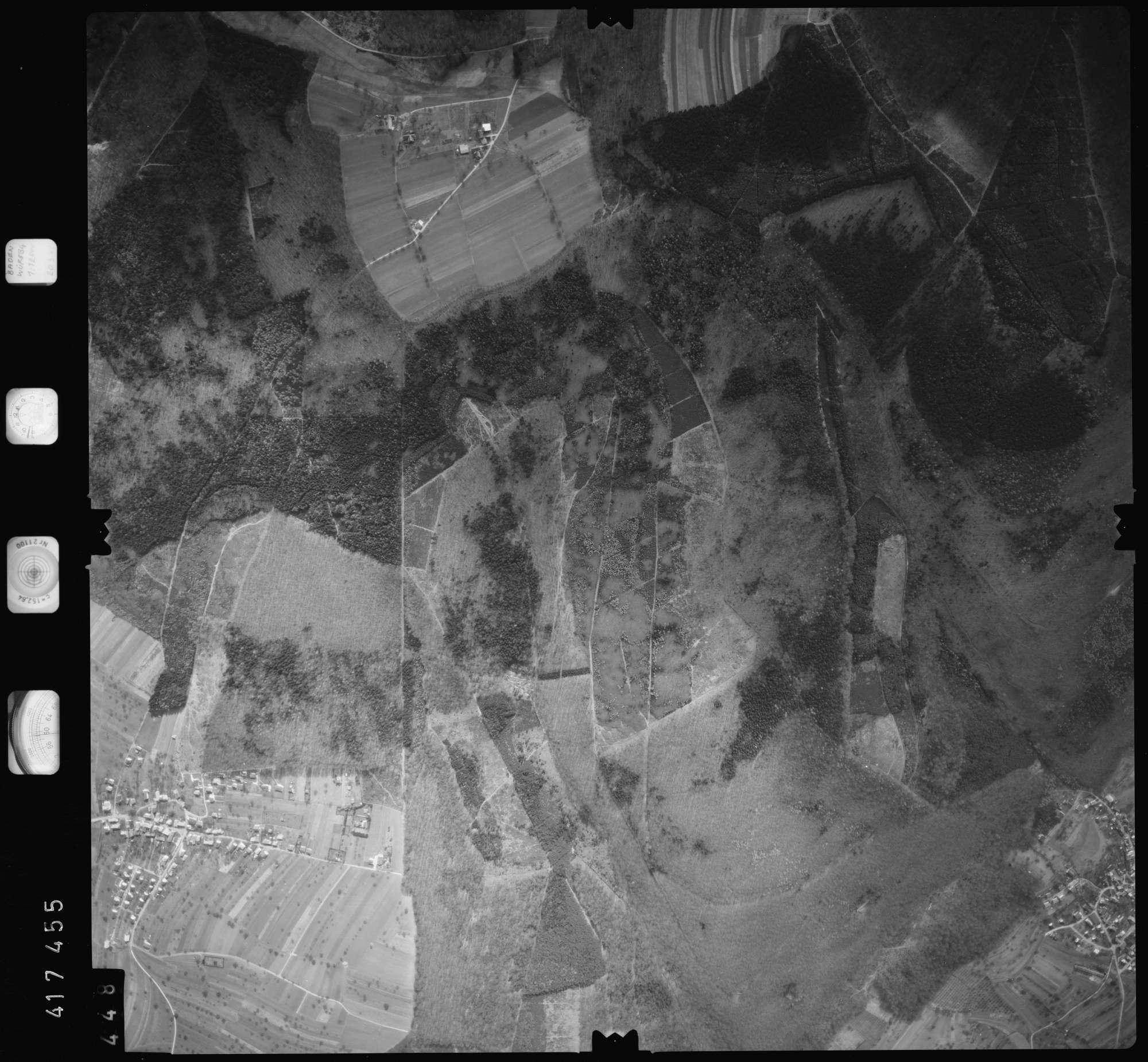 Luftbild: Film 2 Bildnr. 448, Bild 1