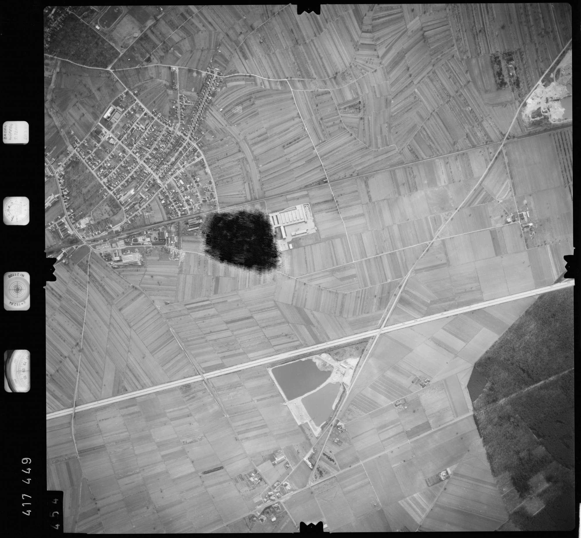 Luftbild: Film 2 Bildnr. 454, Bild 1
