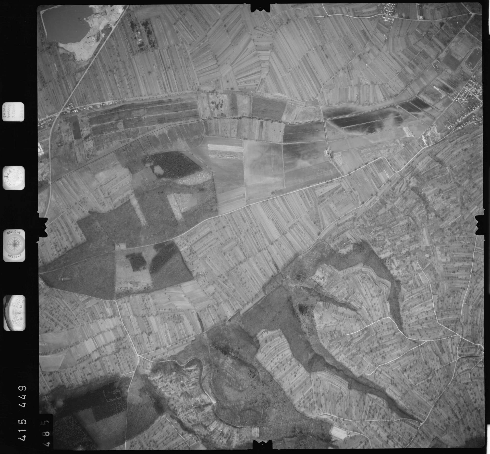 Luftbild: Film 2 Bildnr. 485, Bild 1