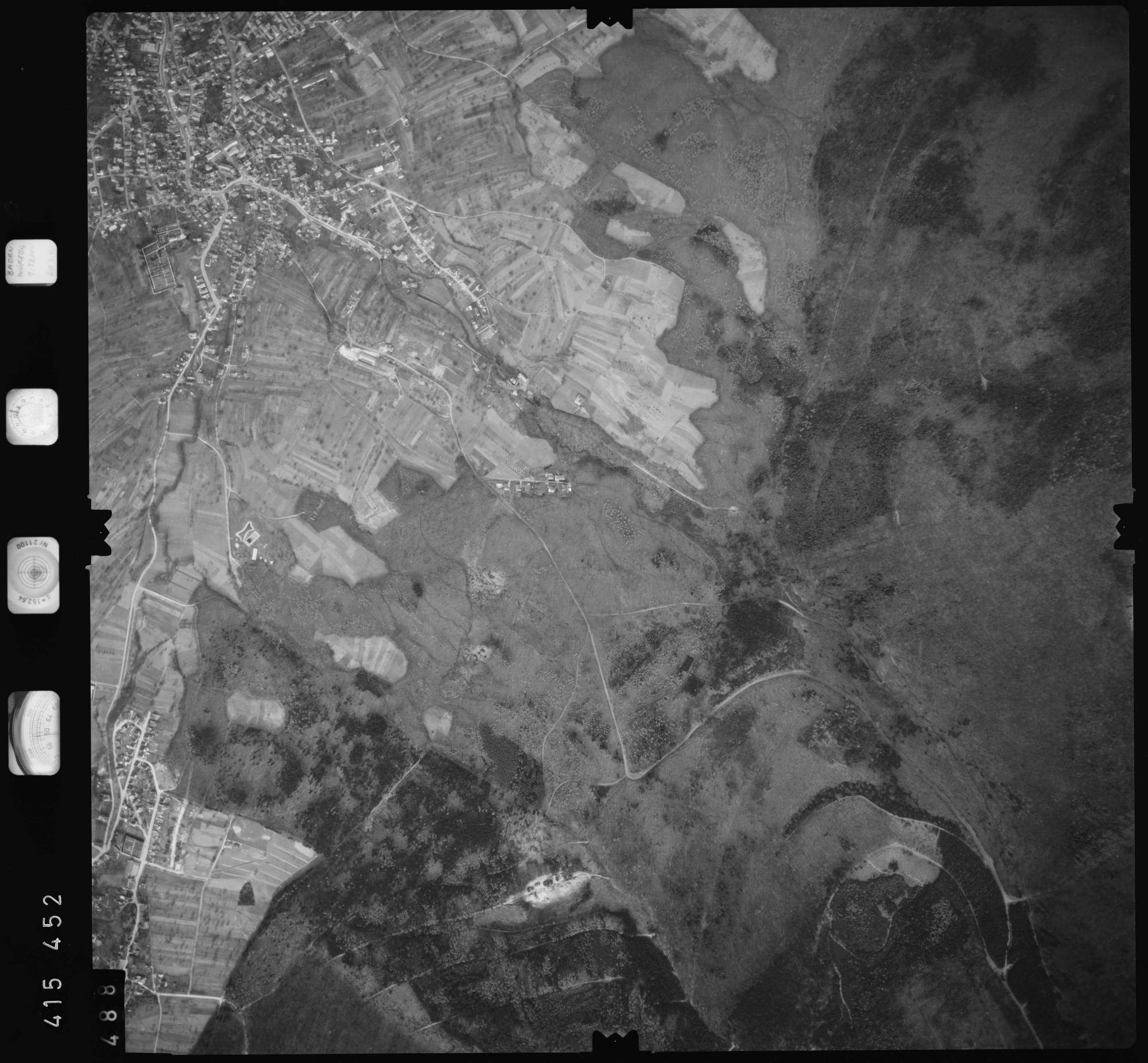 Luftbild: Film 2 Bildnr. 488, Bild 1