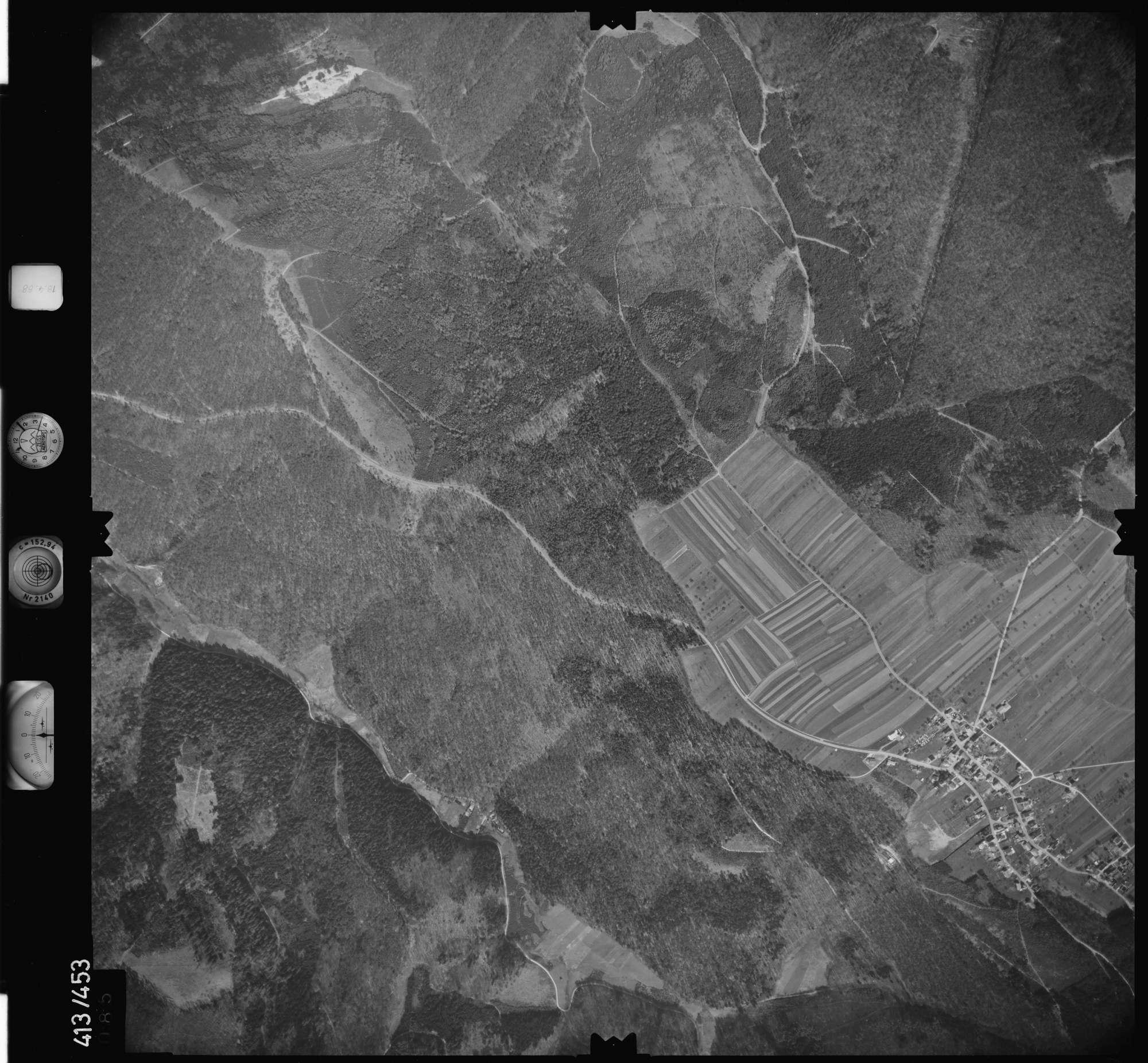 Luftbild: Film 4 Bildnr. 85, Bild 1