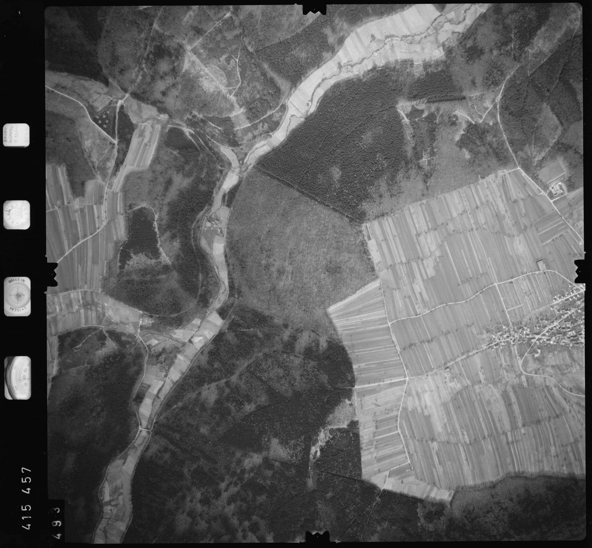 Luftbild: Film 2 Bildnr. 493, Bild 1