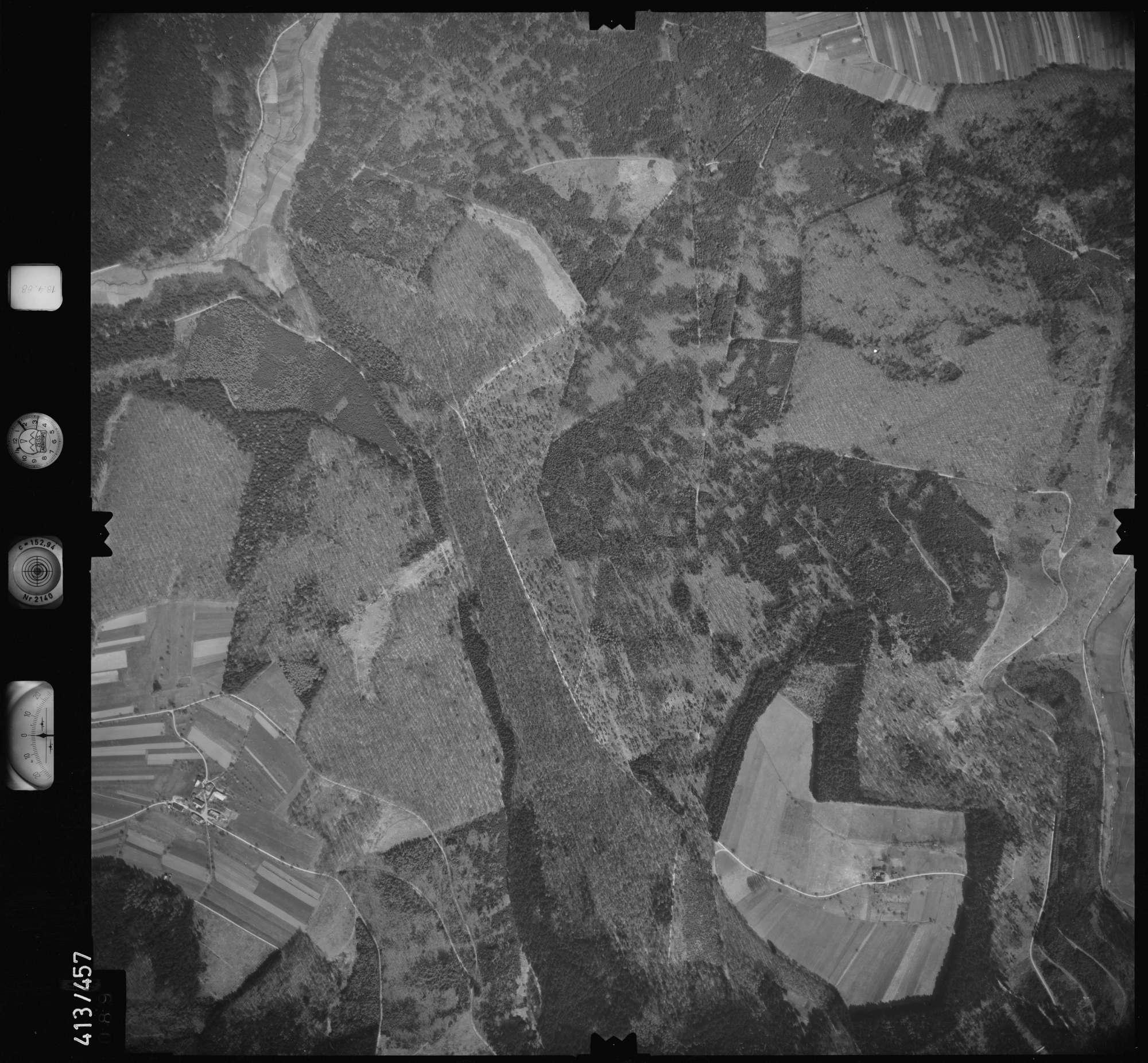 Luftbild: Film 4 Bildnr. 89, Bild 1