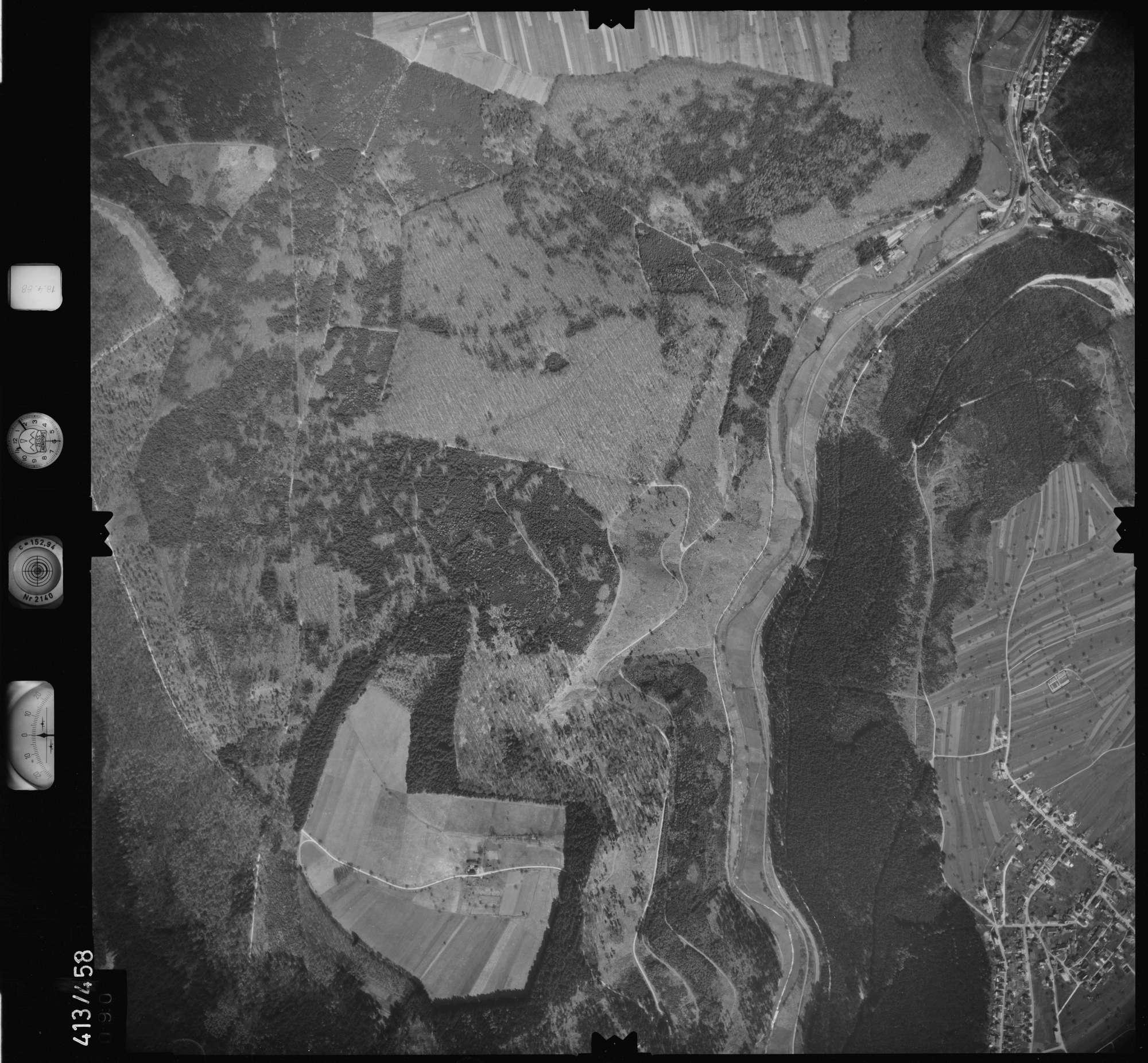 Luftbild: Film 4 Bildnr. 90, Bild 1