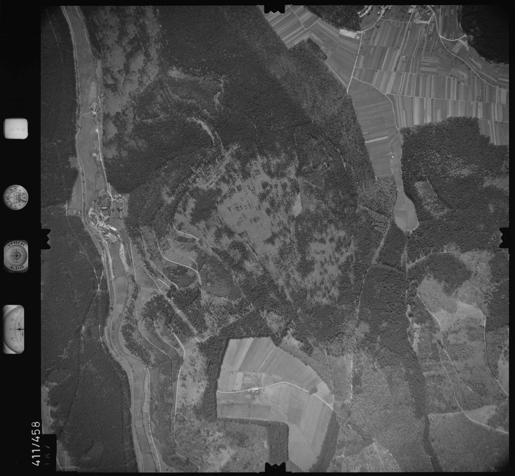Luftbild: Film 4 Bildnr. 167, Bild 1