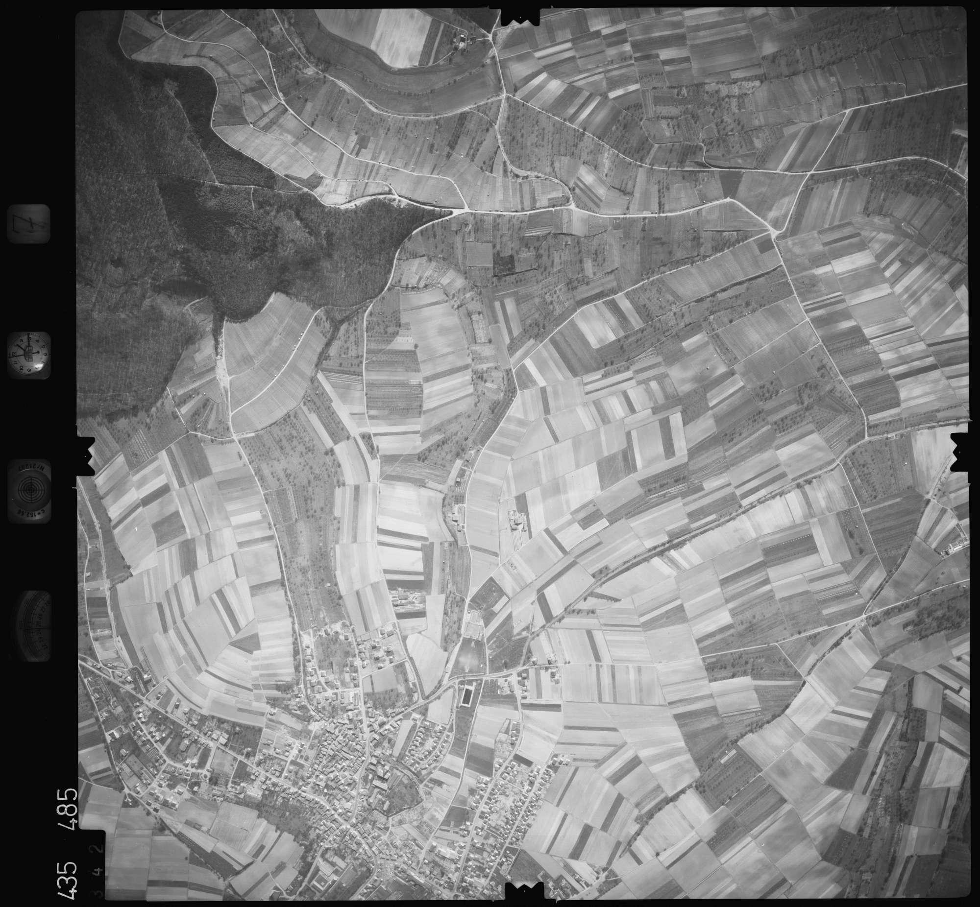 Luftbild: Film 7 Bildnr. 342, Bild 1