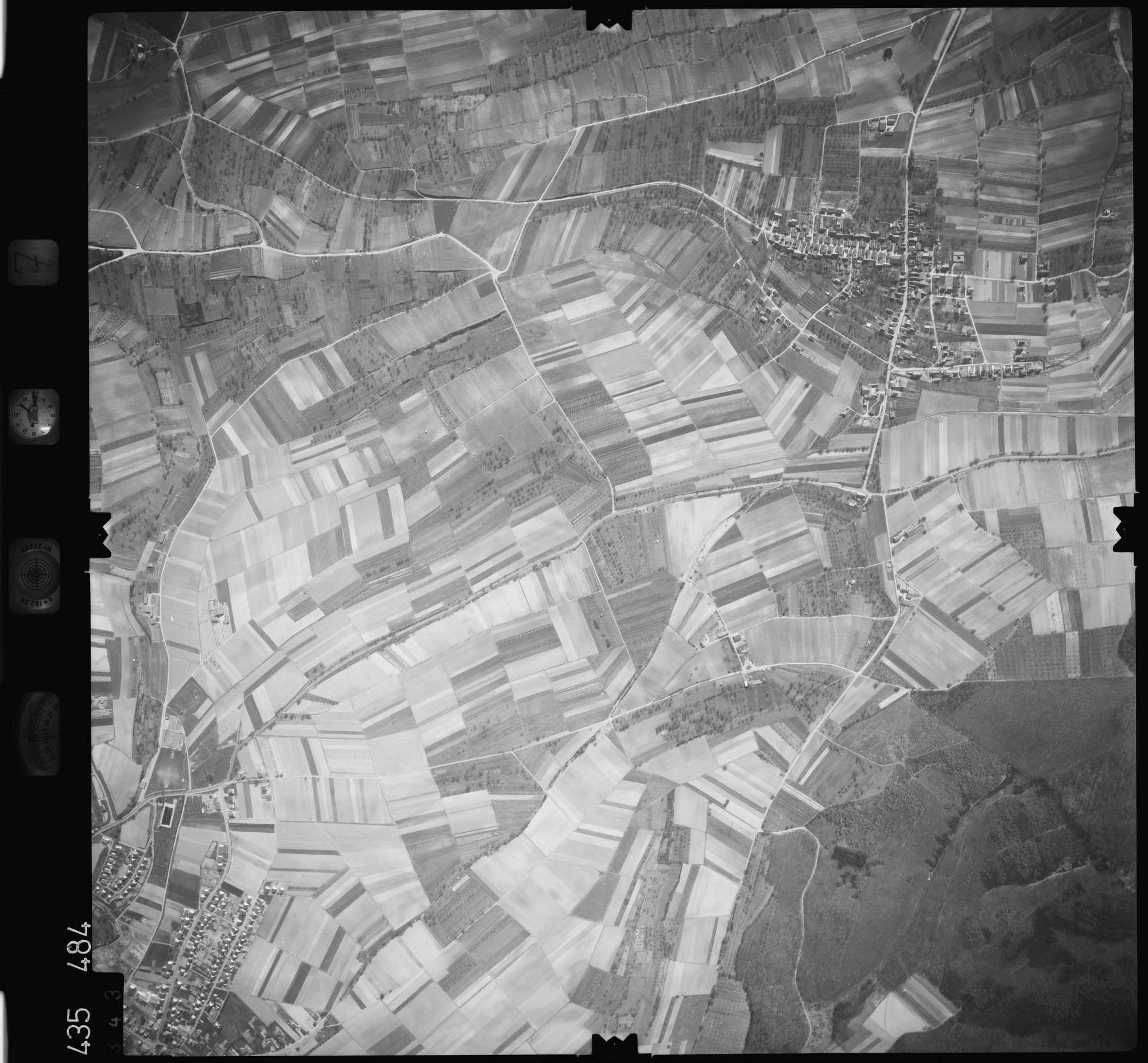 Luftbild: Film 7 Bildnr. 343, Bild 1