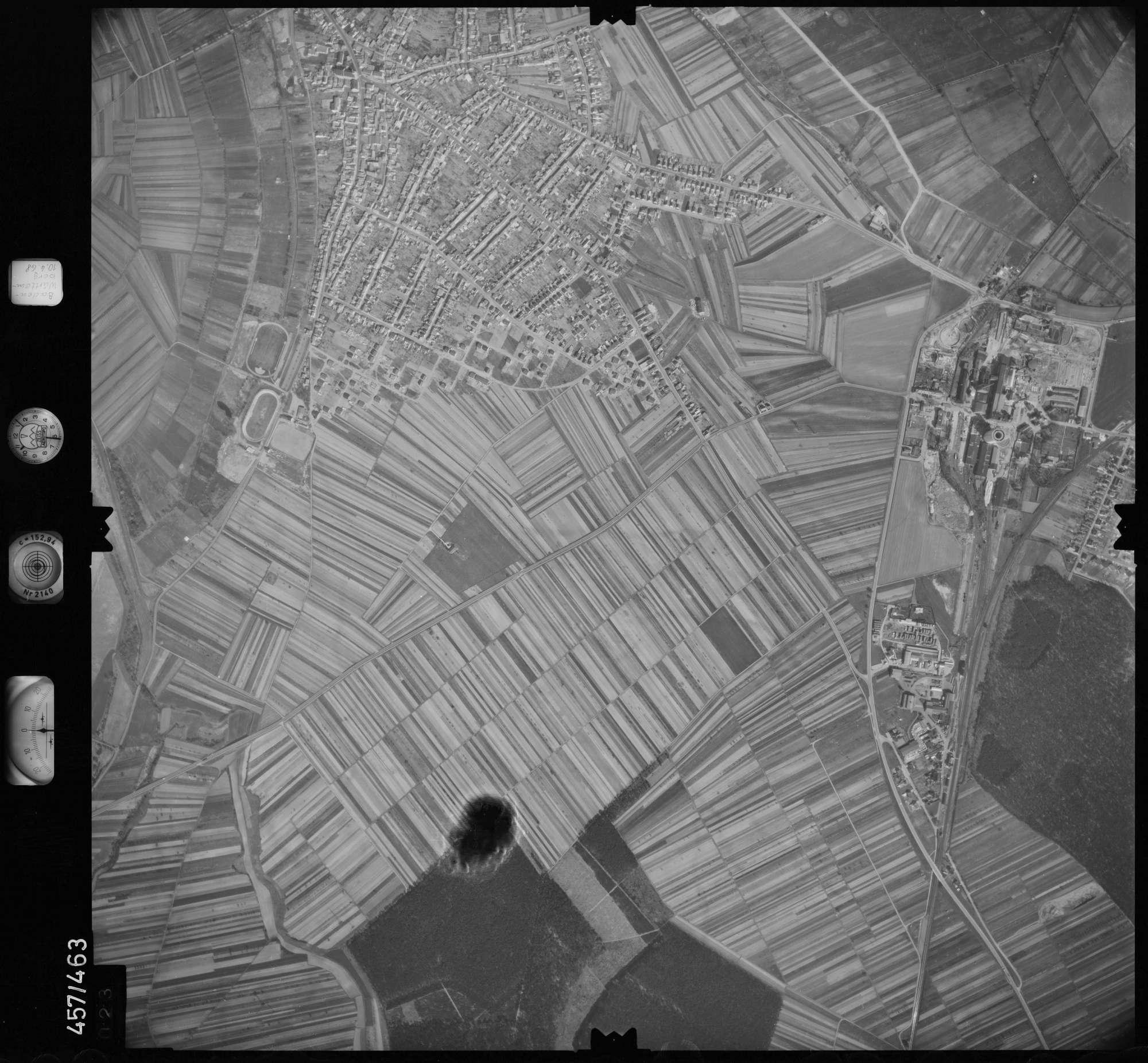 Luftbild: Film 104 Bildnr. 23, Bild 1