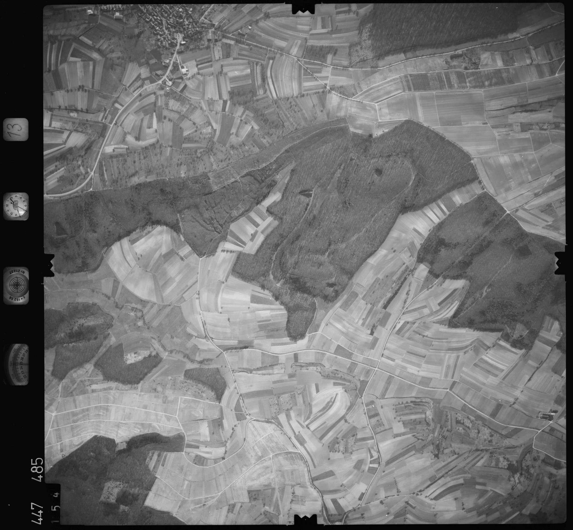 Luftbild: Film 13 Bildnr. 154, Bild 1