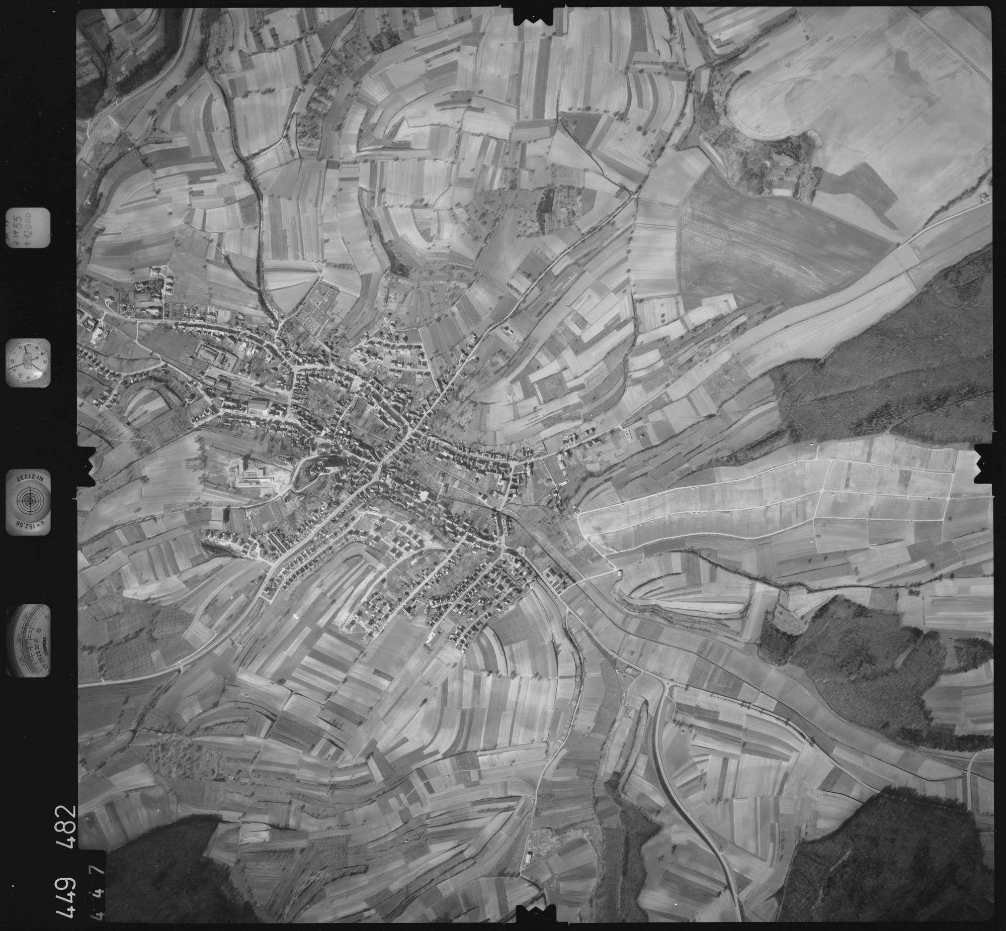 Luftbild: Film 14 Bildnr. 447, Bild 1