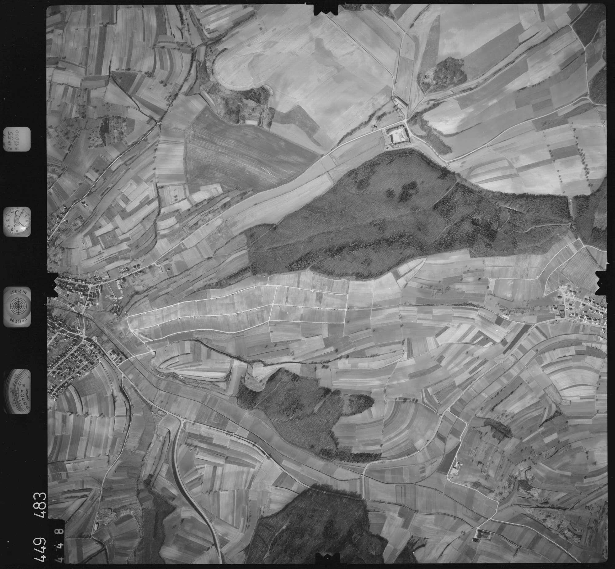 Luftbild: Film 14 Bildnr. 448, Bild 1