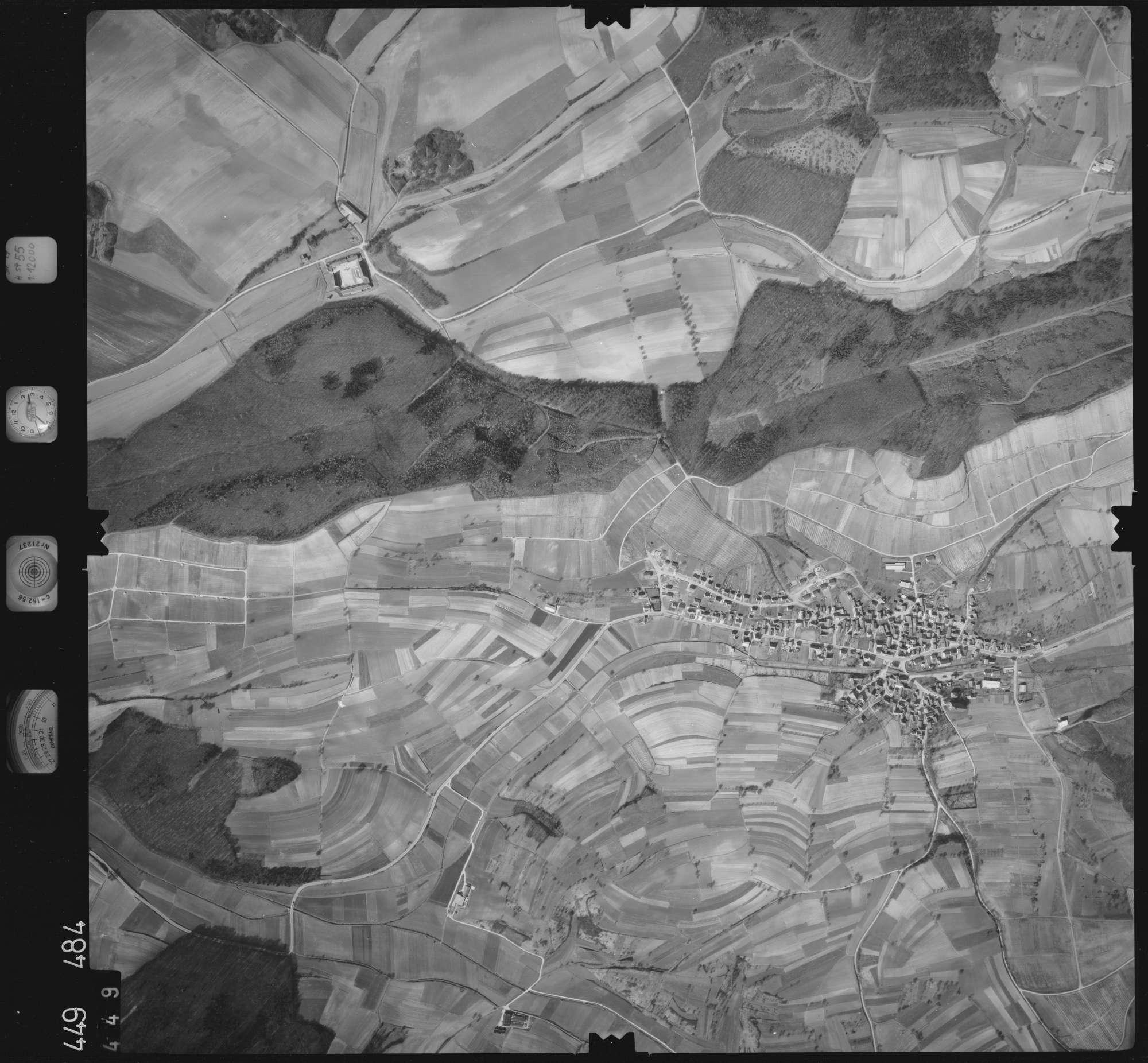 Luftbild: Film 14 Bildnr. 449, Bild 1