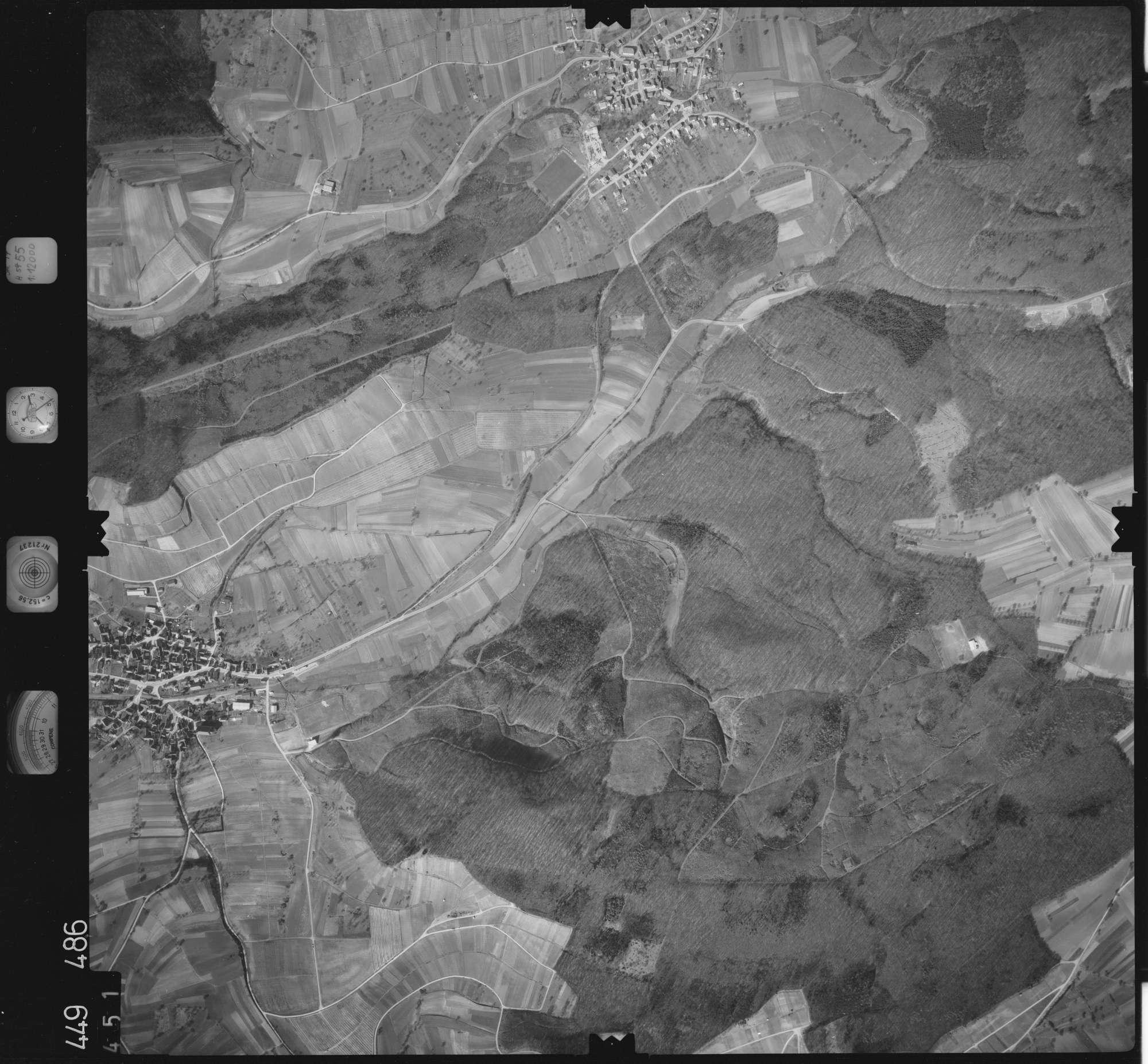 Luftbild: Film 14 Bildnr. 451, Bild 1