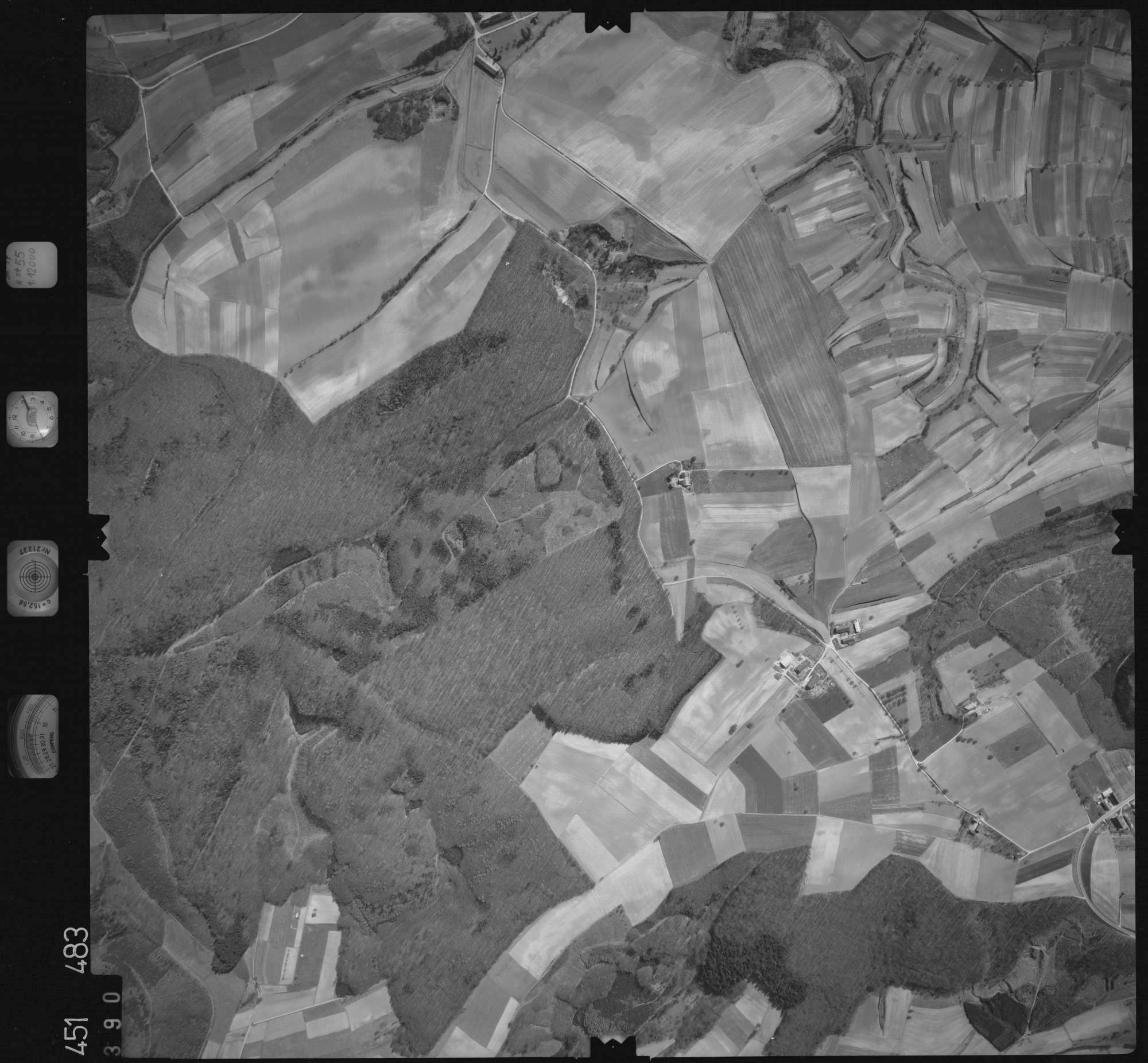 Luftbild: Film 15 Bildnr. 390, Bild 1