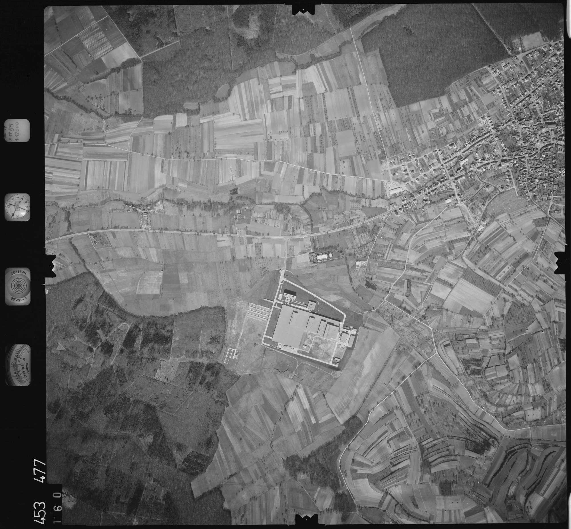 Luftbild: Film 16 Bildnr. 160, Bild 1