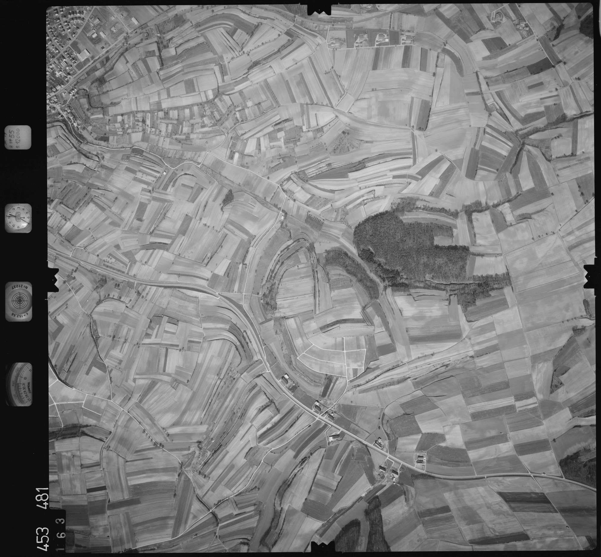 Luftbild: Film 16 Bildnr. 163, Bild 1