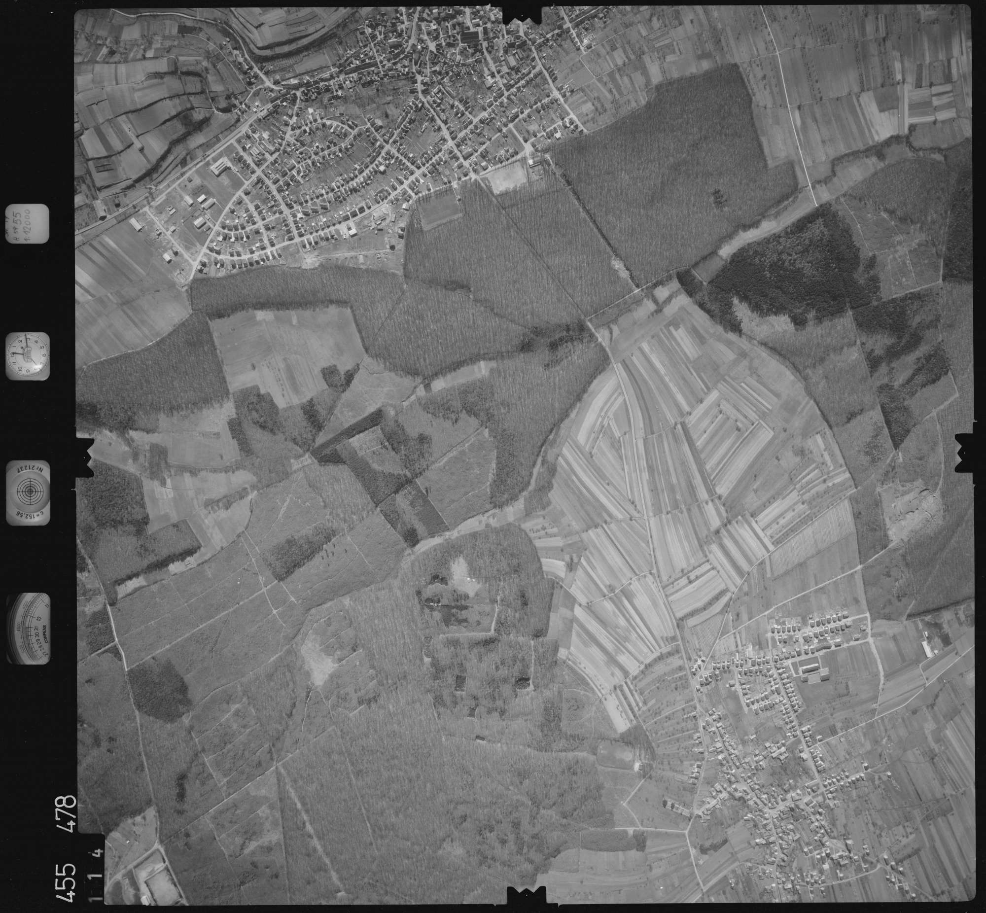 Luftbild: Film 17 Bildnr. 114, Bild 1