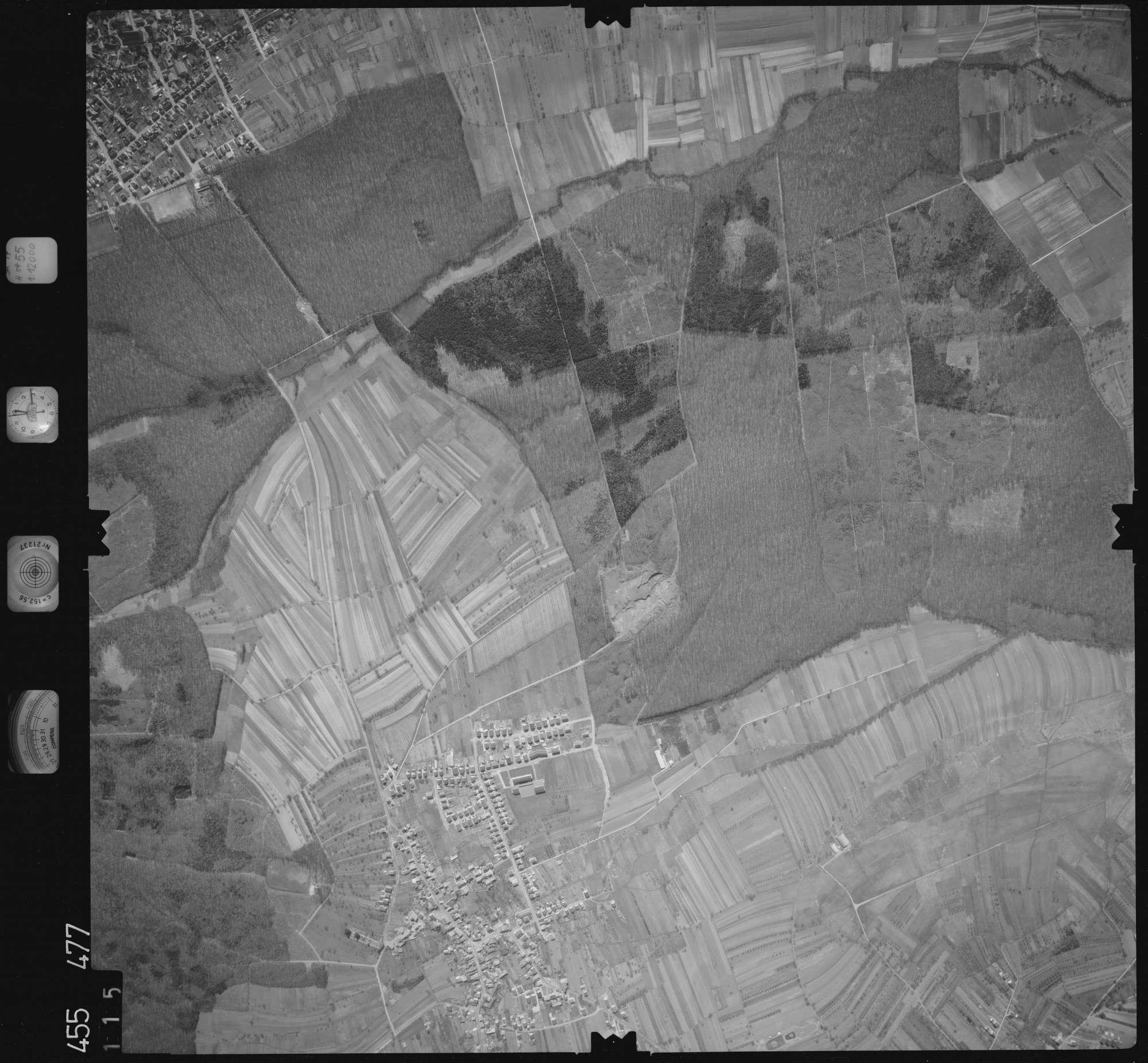 Luftbild: Film 17 Bildnr. 115, Bild 1