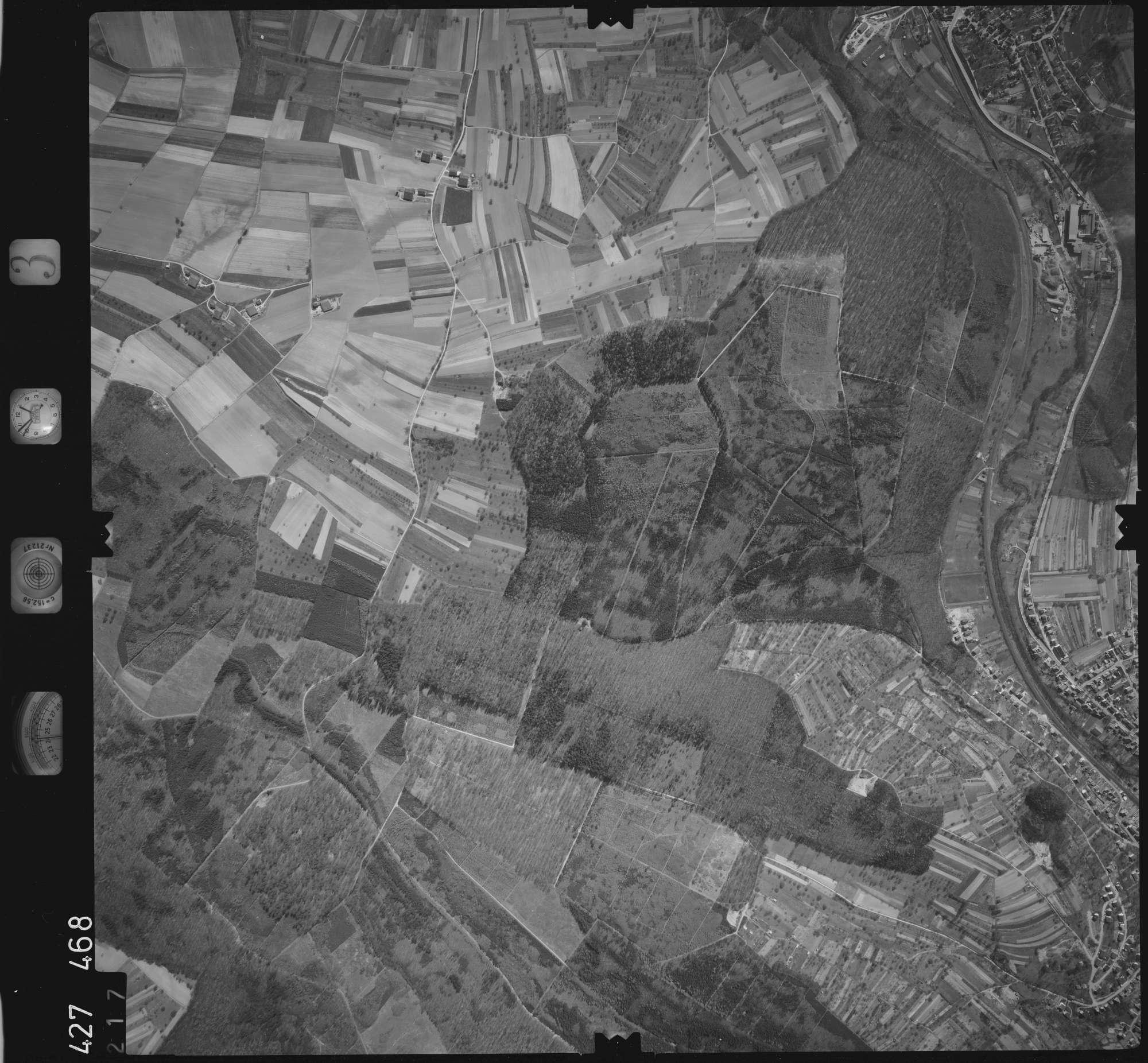 Luftbild: Film 3 Bildnr. 217, Bild 1