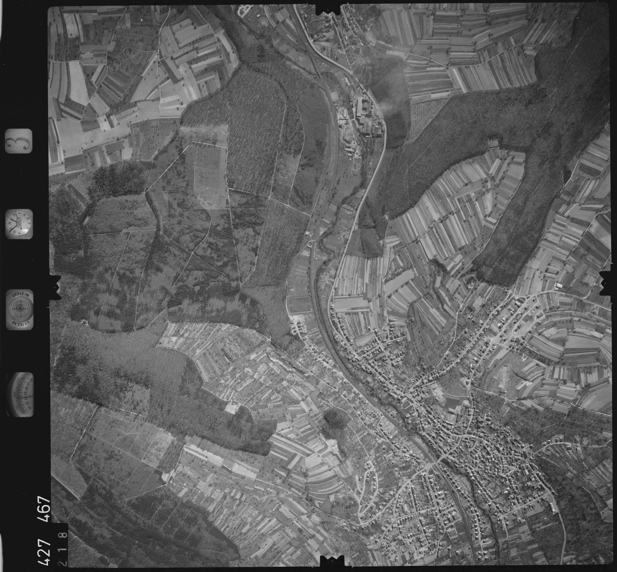 Luftbild: Film 3 Bildnr. 218, Bild 1
