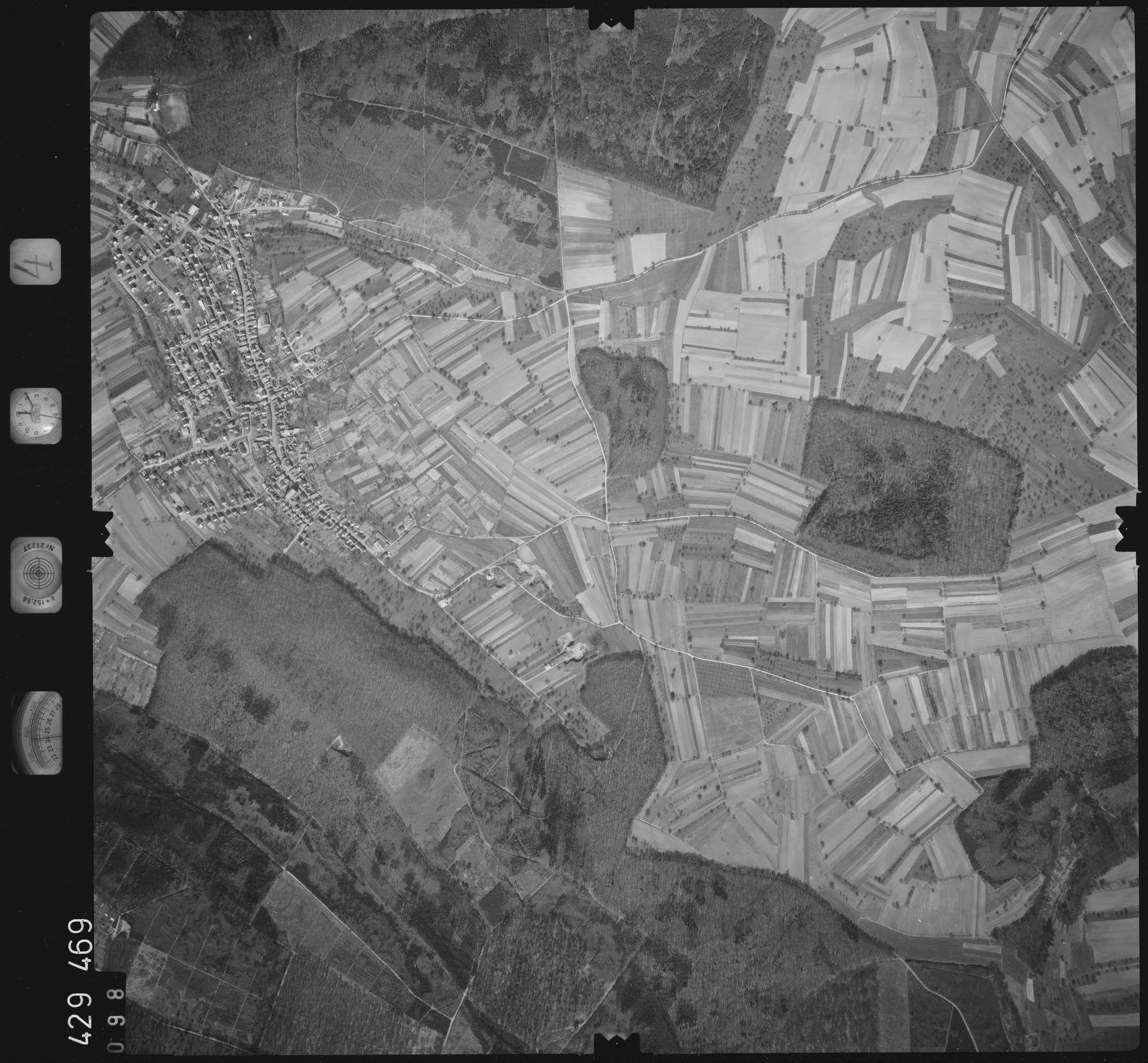 Luftbild: Film 4 Bildnr. 98, Bild 1