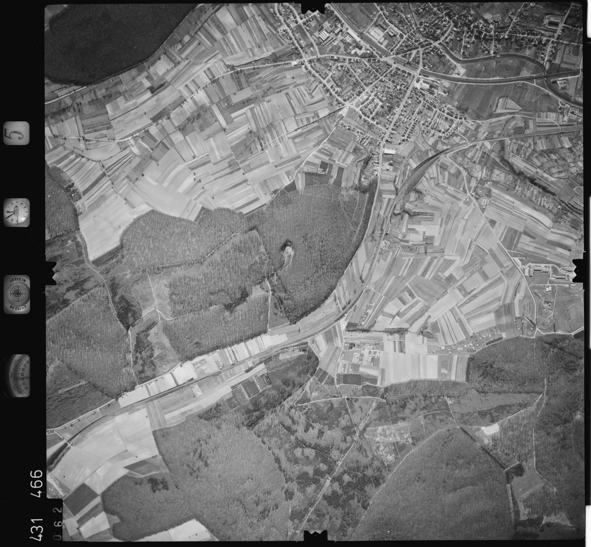 Luftbild: Film 5 Bildnr. 62, Bild 1